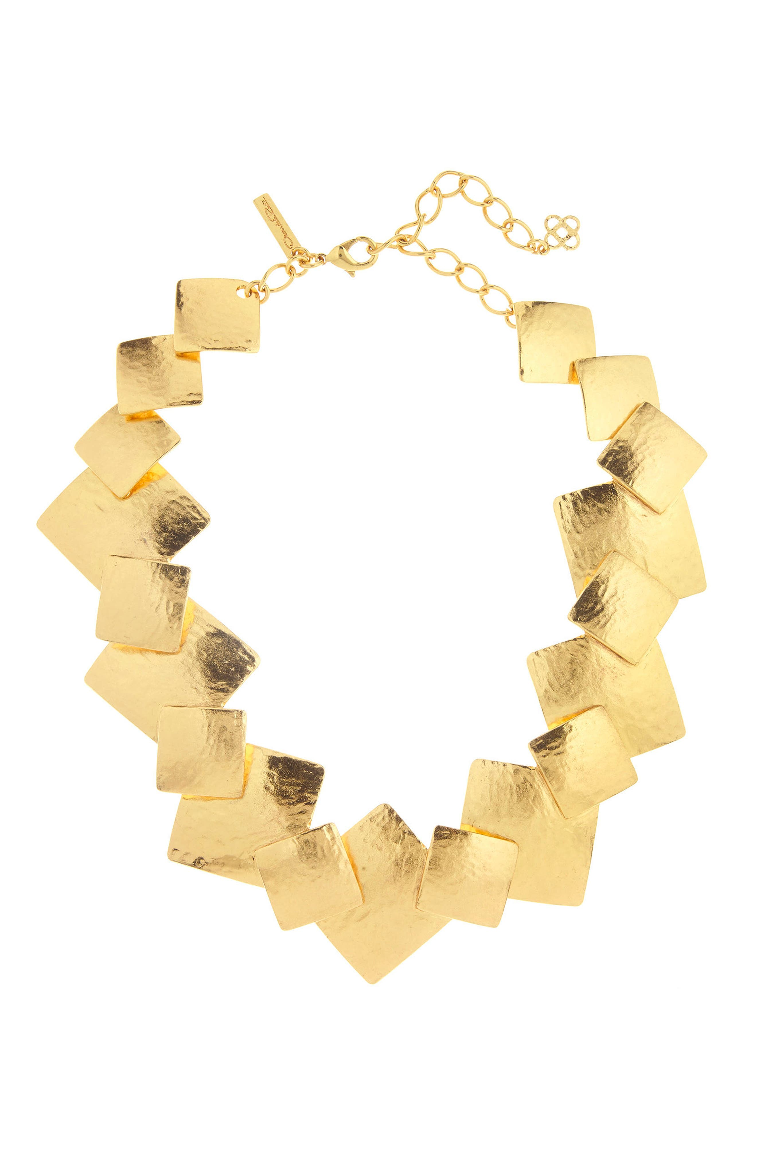 Geo Collage Collar Necklace,                         Main,                         color,