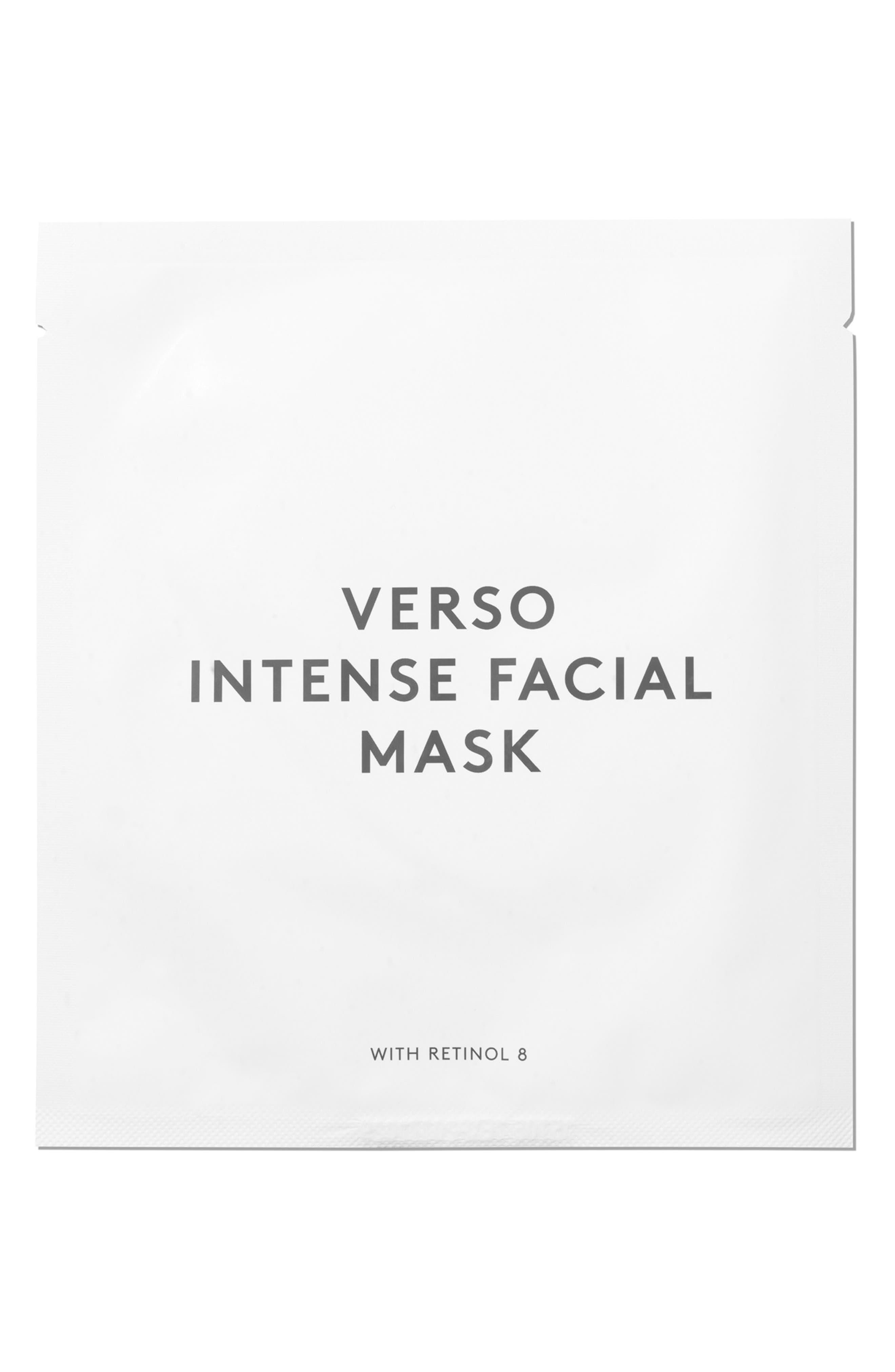 VERSO,                             SPACE.NK.apothecary Verso Skincare Intense Facial Mask,                             Alternate thumbnail 3, color,                             NO COLOR