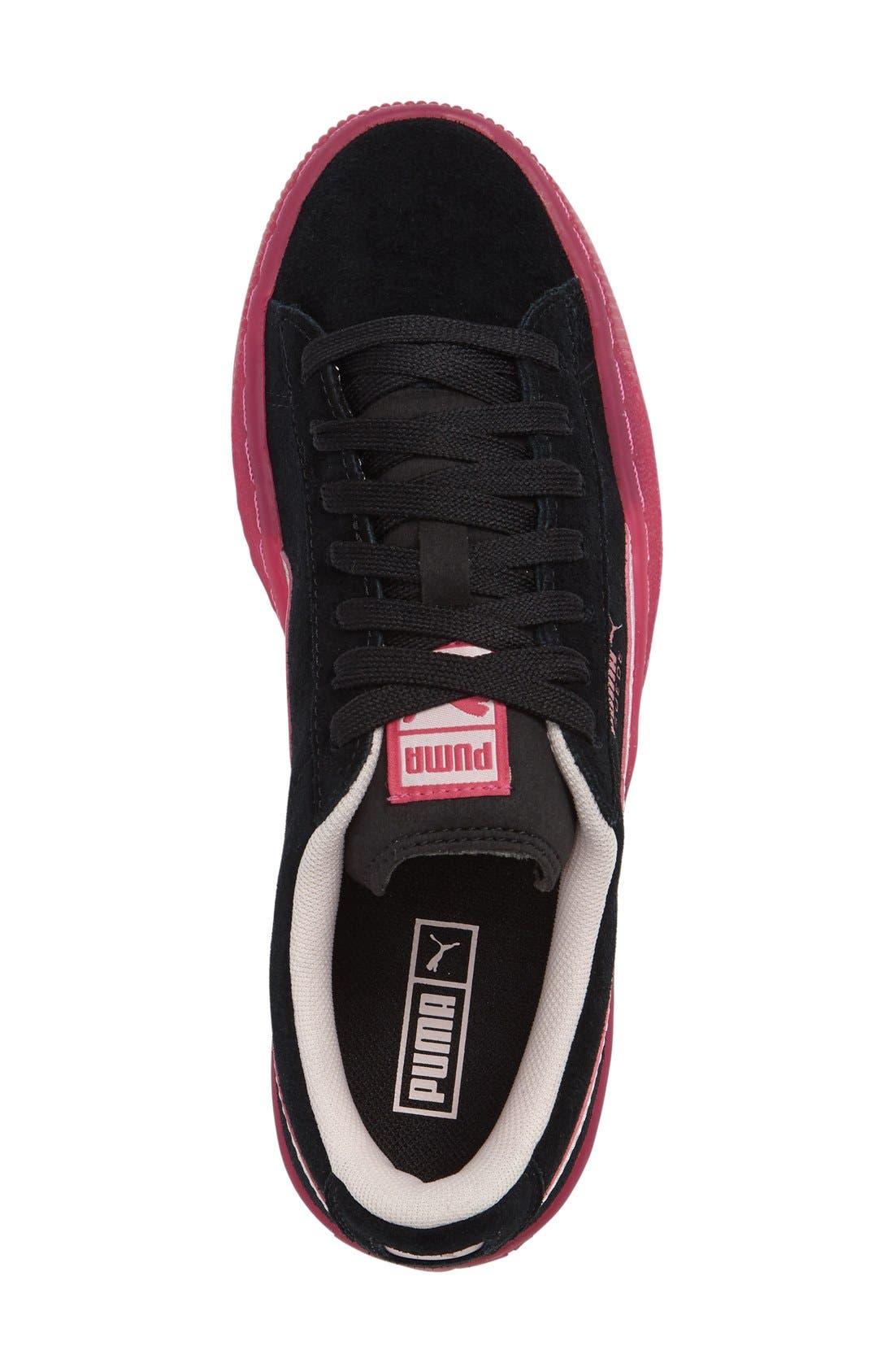 LFS Iced Jr Sneaker,                             Alternate thumbnail 3, color,                             001