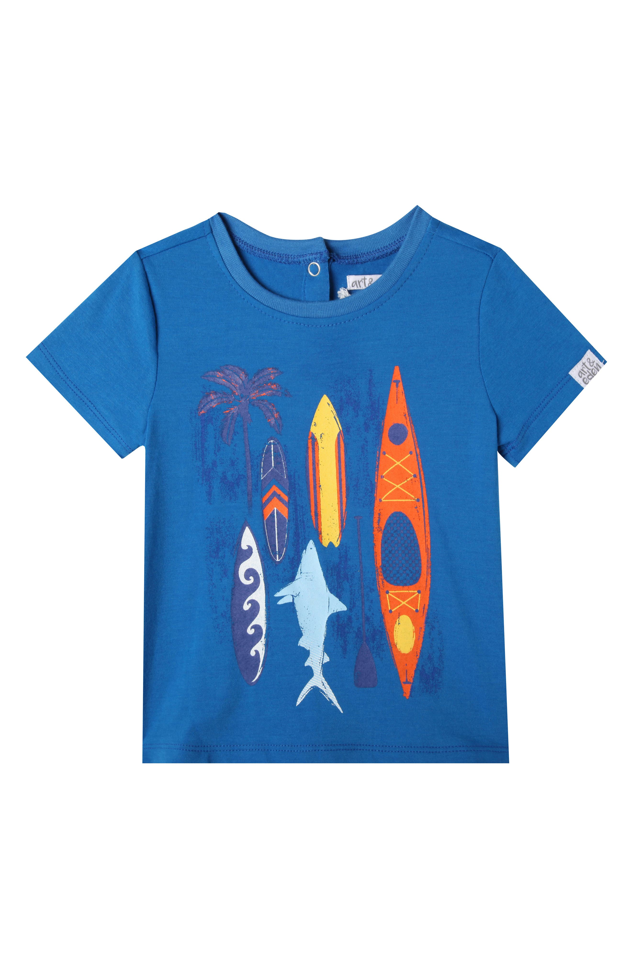 Nathan T-Shirt,                             Main thumbnail 1, color,                             FRENCH BLUE