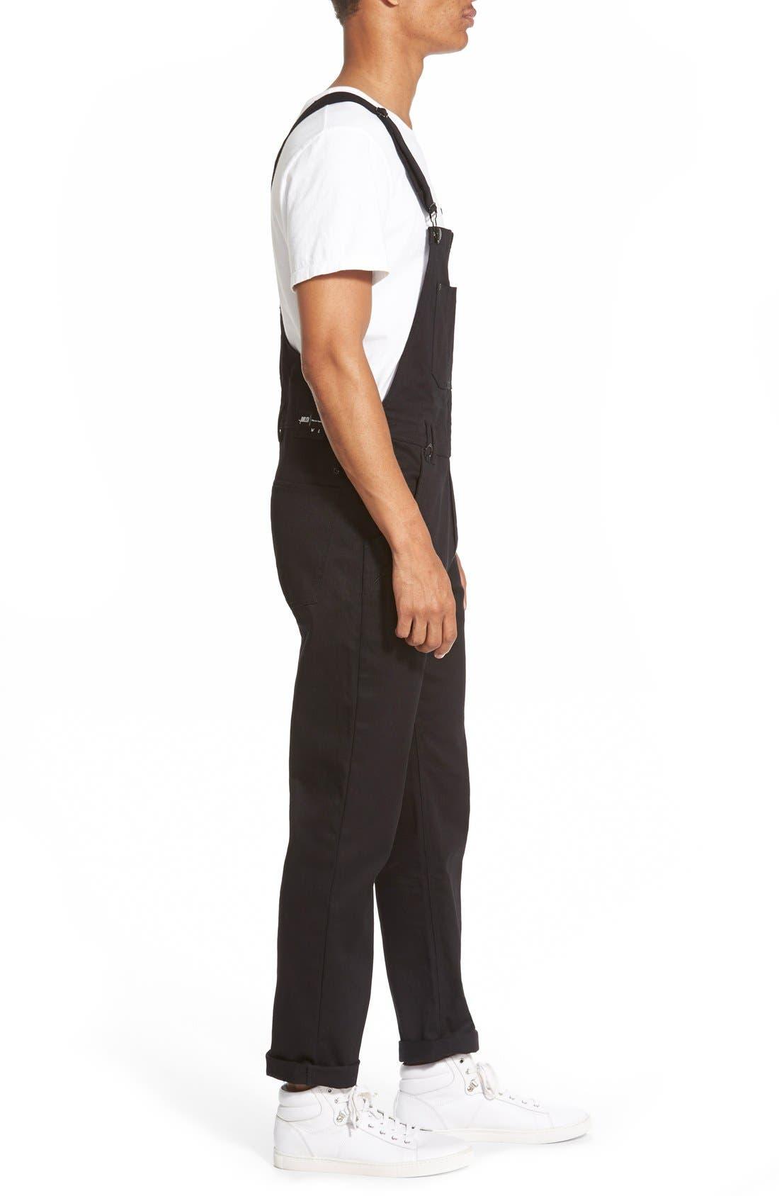 'Sawyer' Overall Pants,                             Alternate thumbnail 3, color,                             001