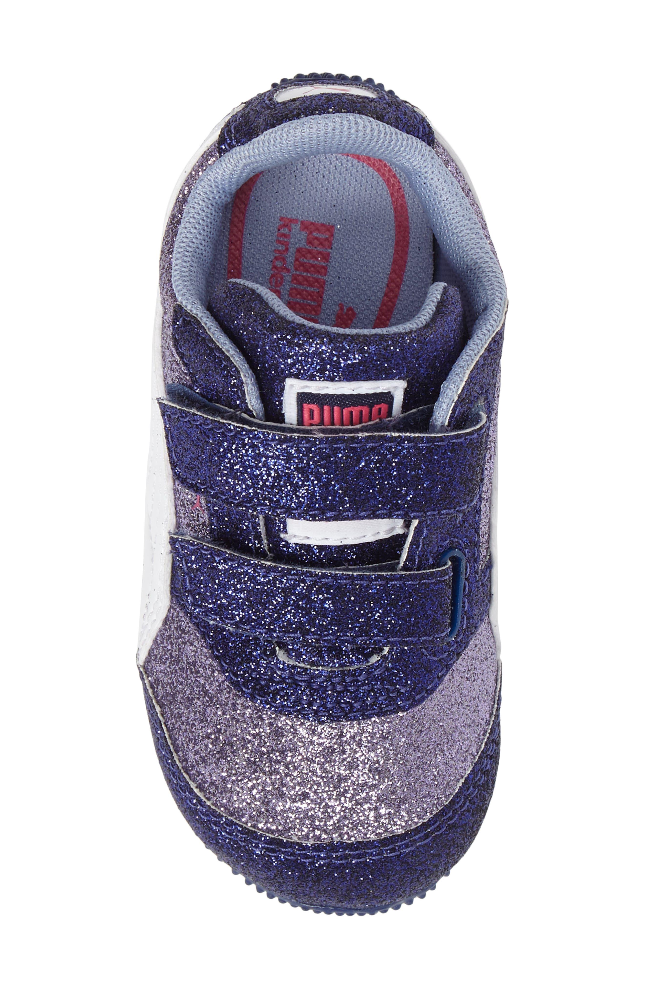 Steeple Glitz Glam Sneaker,                             Alternate thumbnail 5, color,                             500
