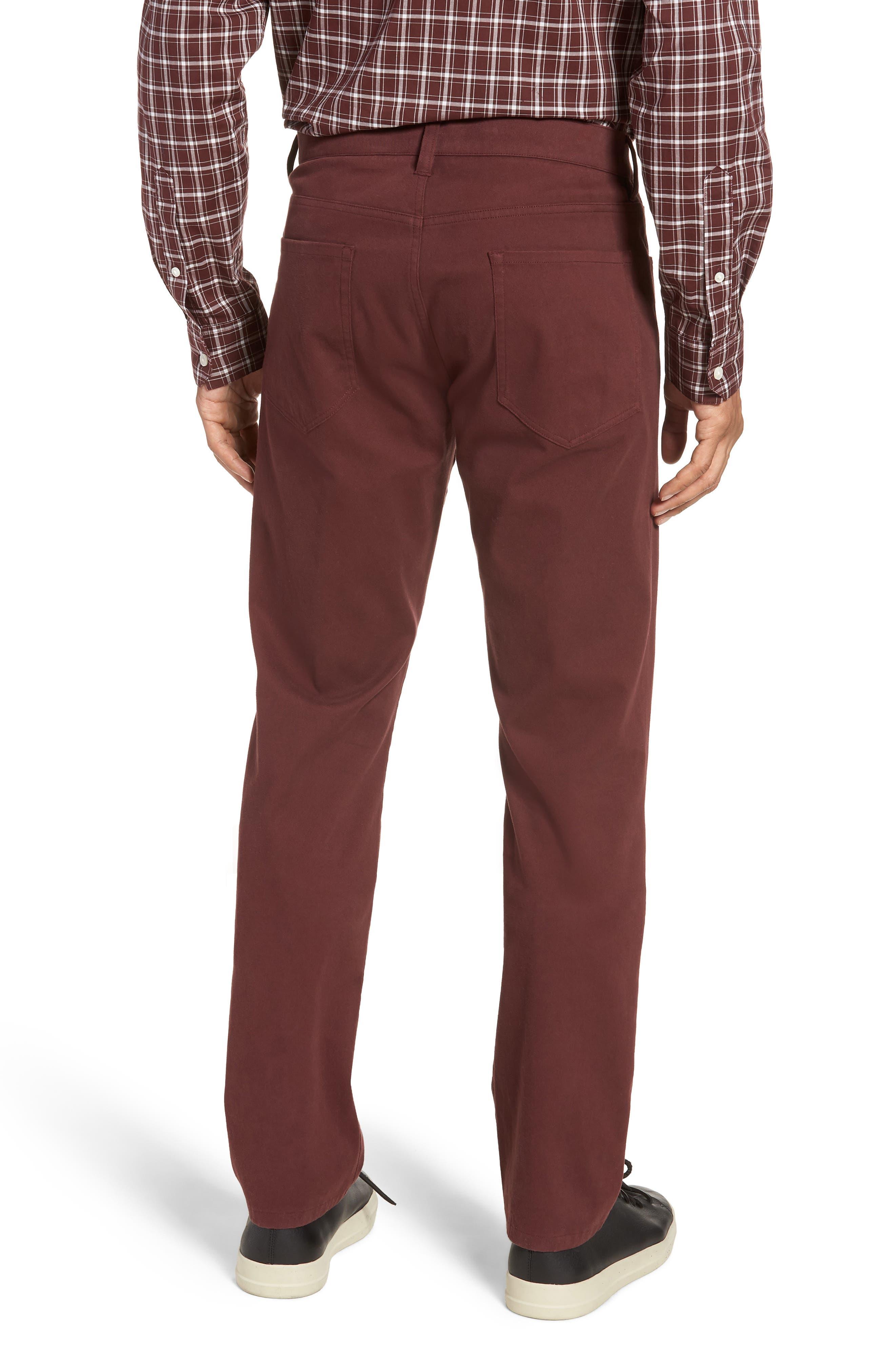 Regular Fit Five-Pocket Pants,                             Alternate thumbnail 4, color,
