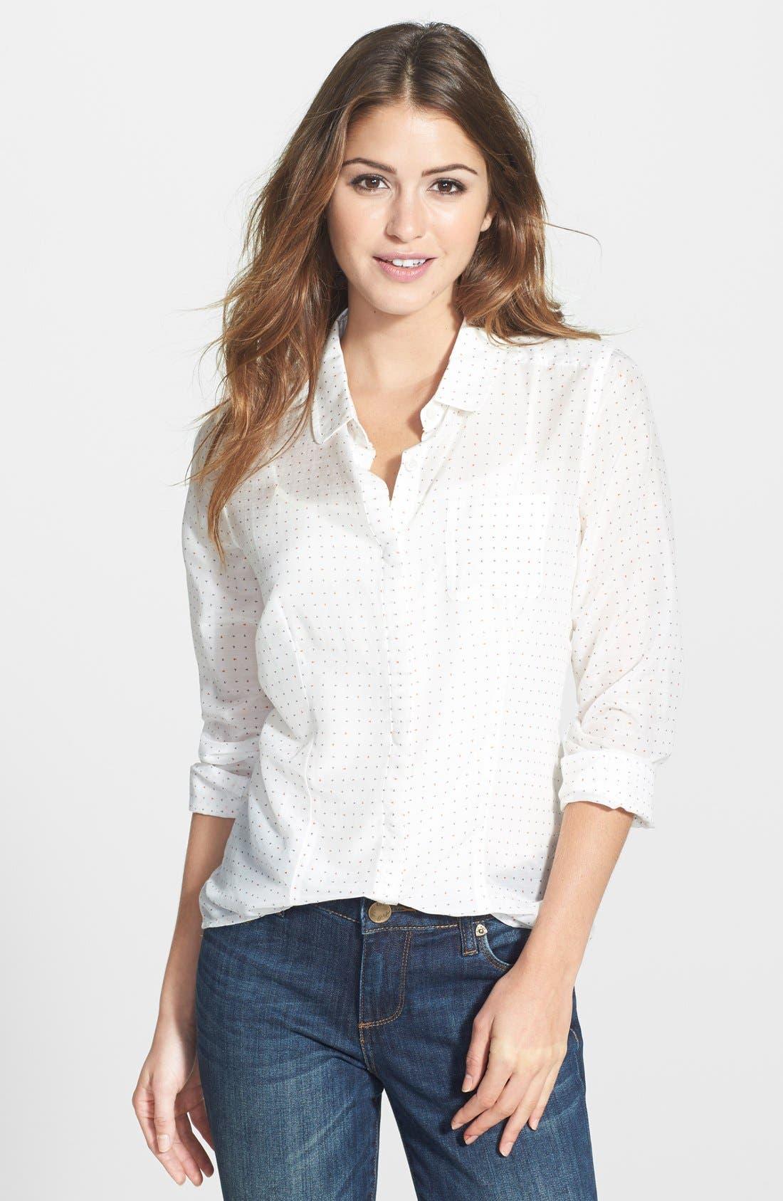 Cotton & Silk Shirt,                             Main thumbnail 39, color,