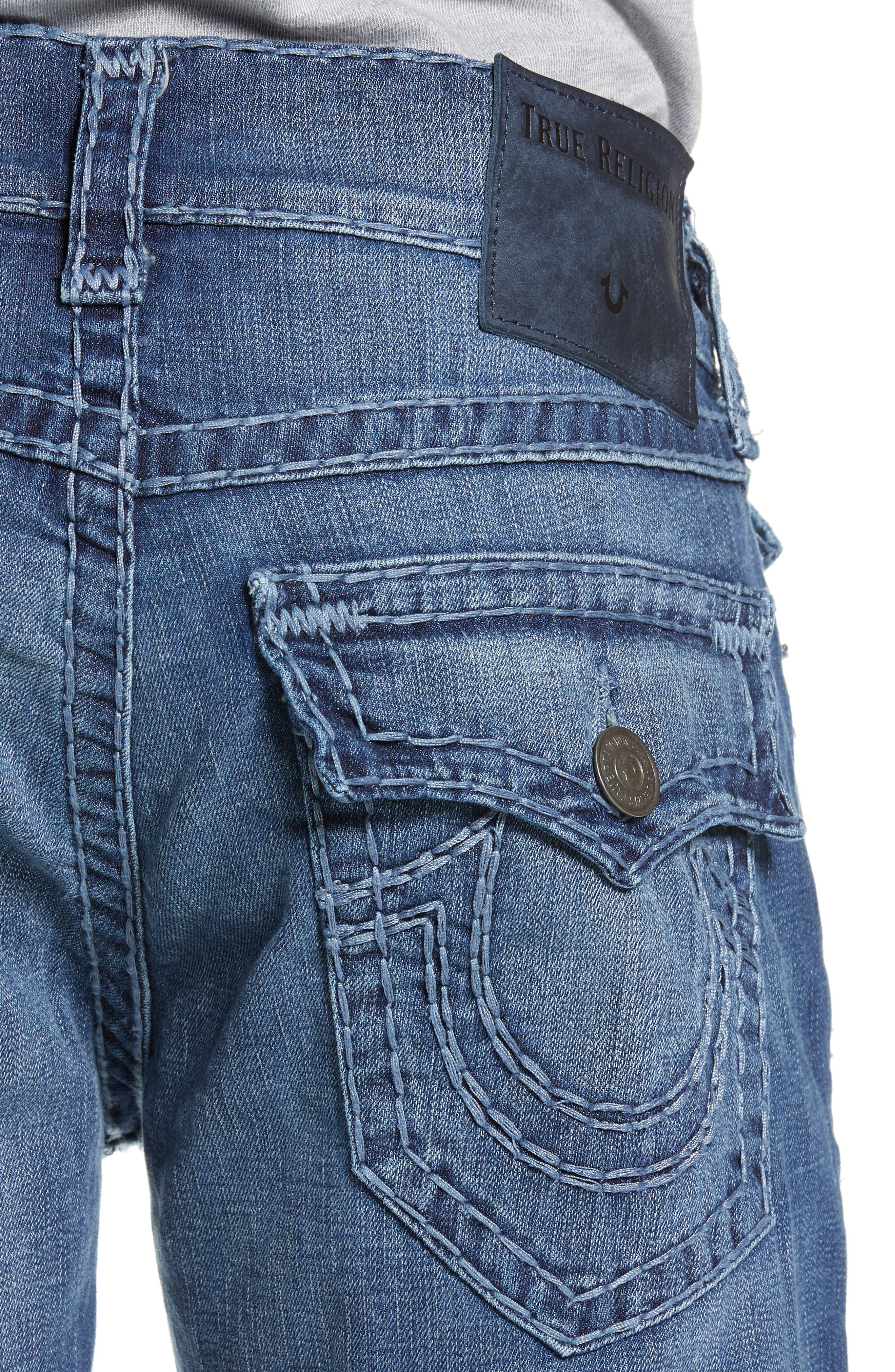 Ricky Relaxed Fit Jeans,                             Alternate thumbnail 4, color,                             HIGH FREQUENCY