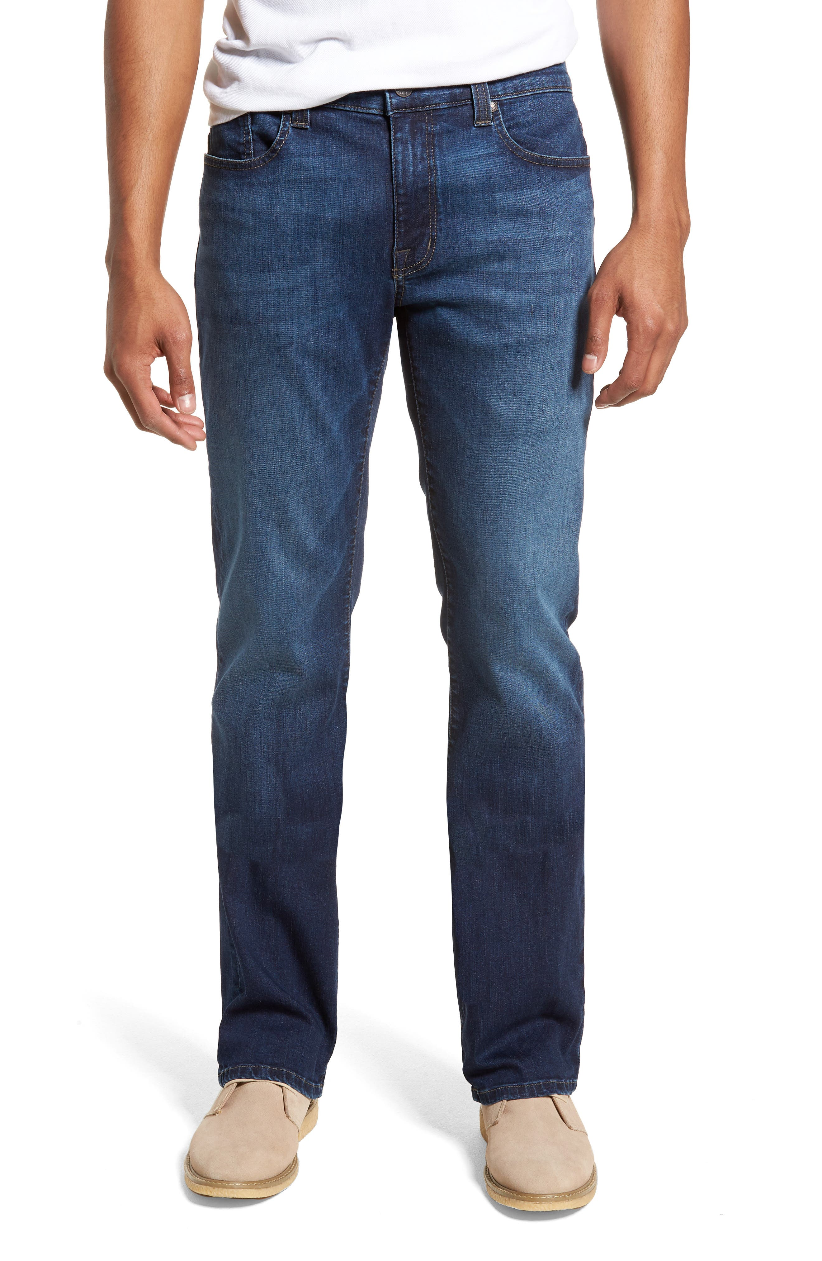 50-11 Relaxed Fit Jeans,                         Main,                         color, CORNELL BLUE