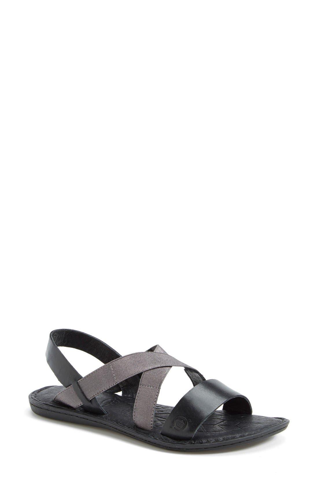 'Icelyn' Flat Sandal, Main, color, 001
