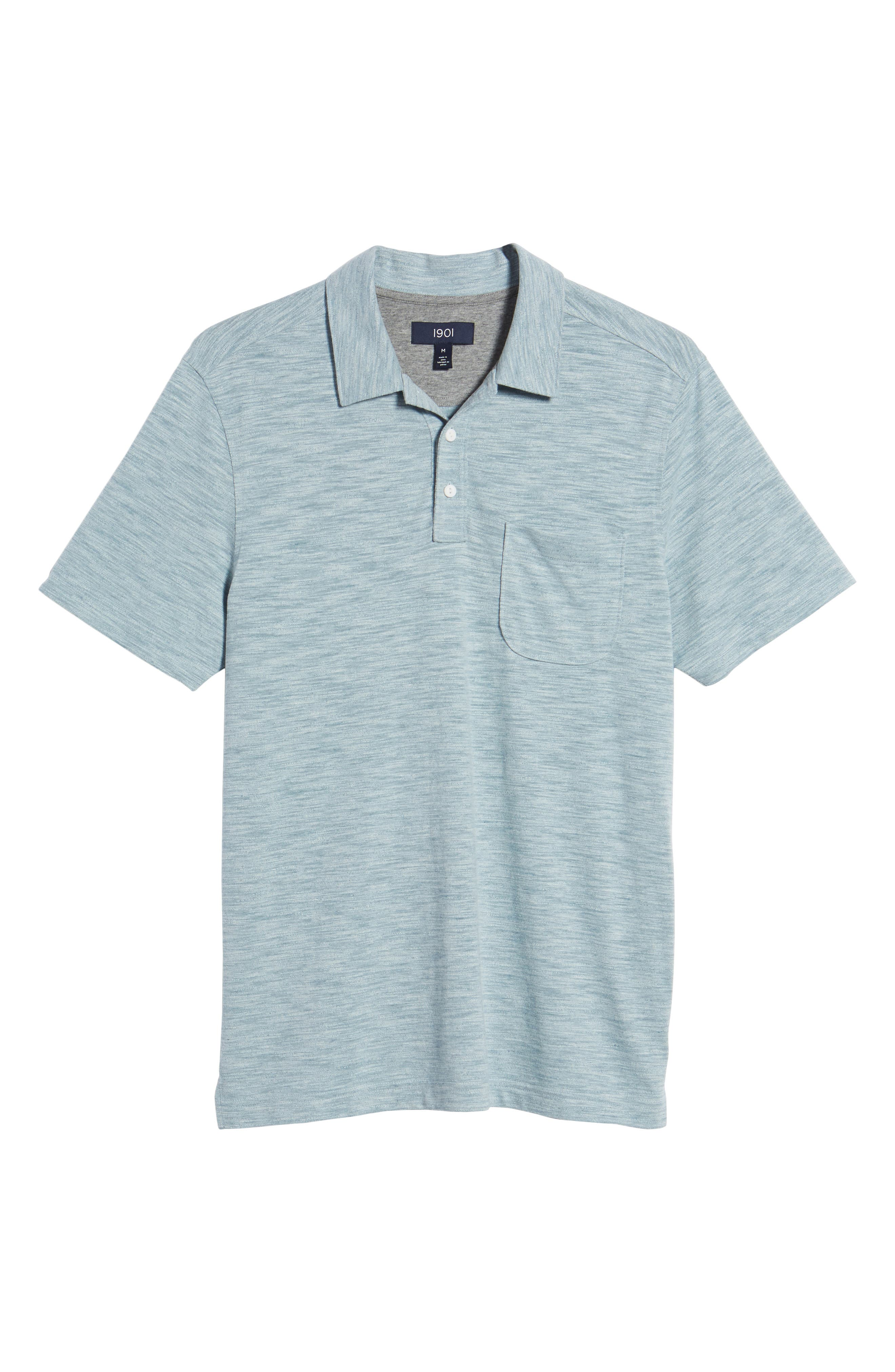 Space Dyed Pocket Polo,                             Alternate thumbnail 41, color,