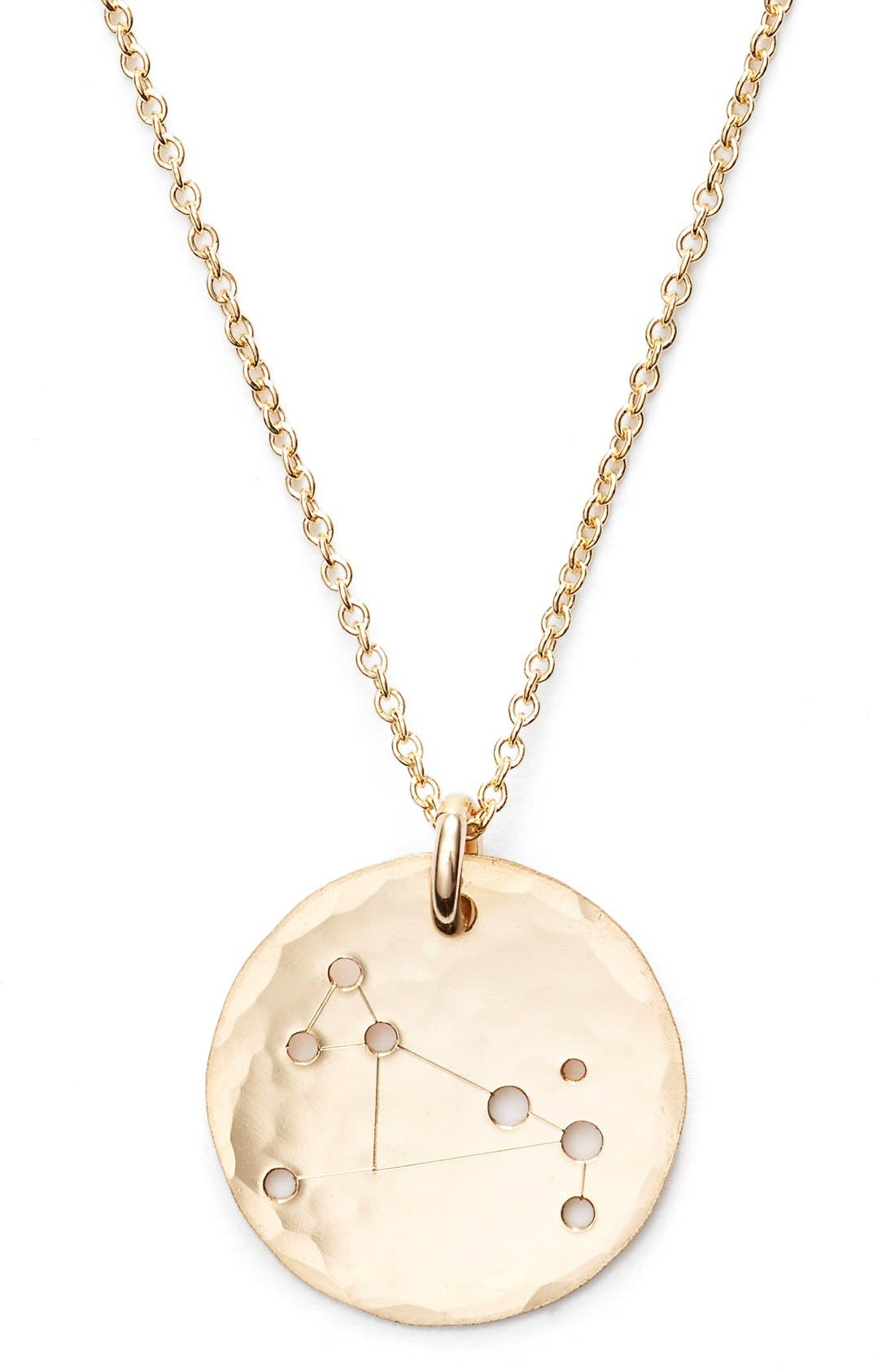 Ija 'Small Zodiac' 14k-Gold Fill Necklace,                             Alternate thumbnail 25, color,