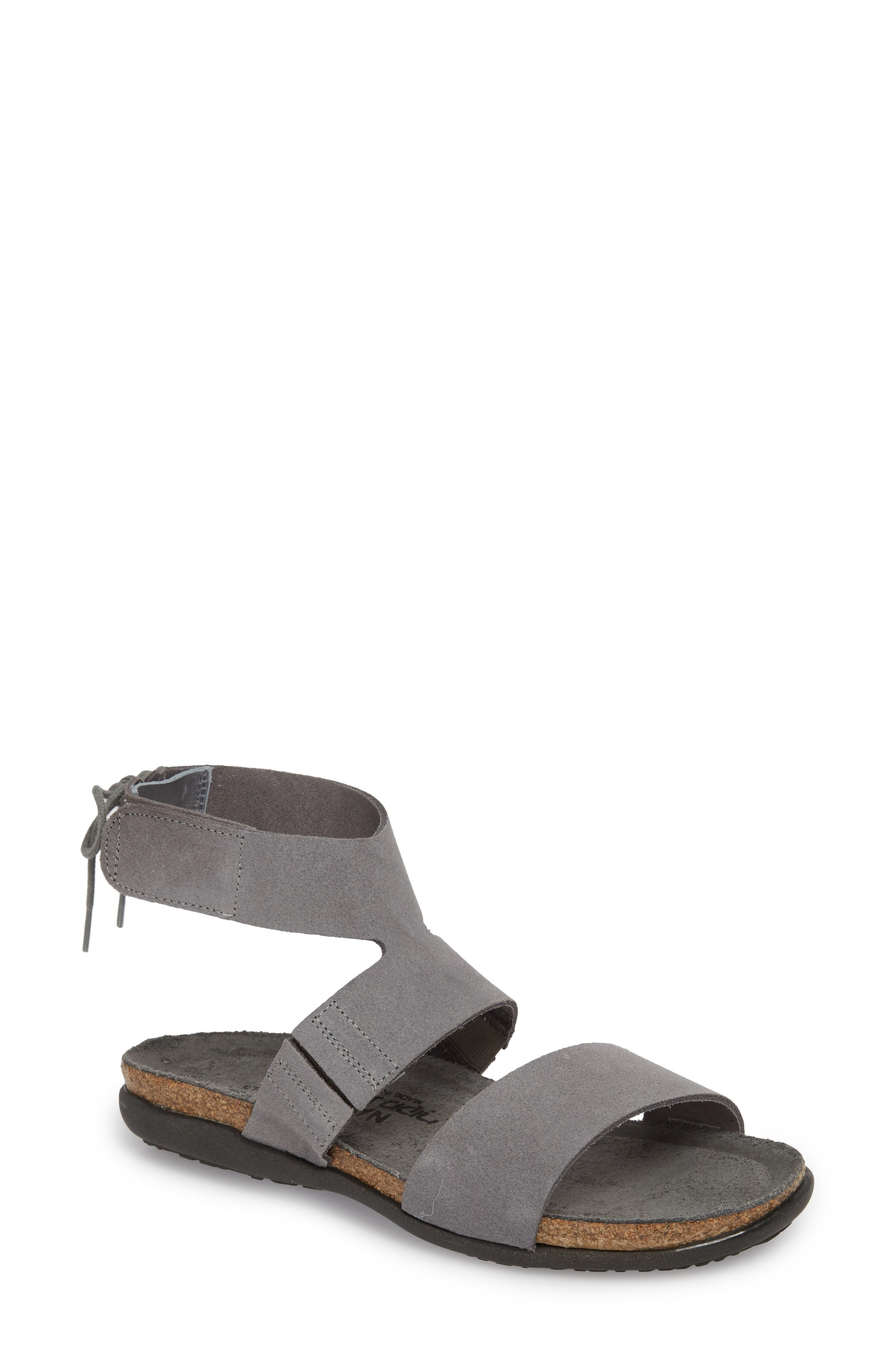 Larissa Ankle Strap Sandal,                             Main thumbnail 2, color,