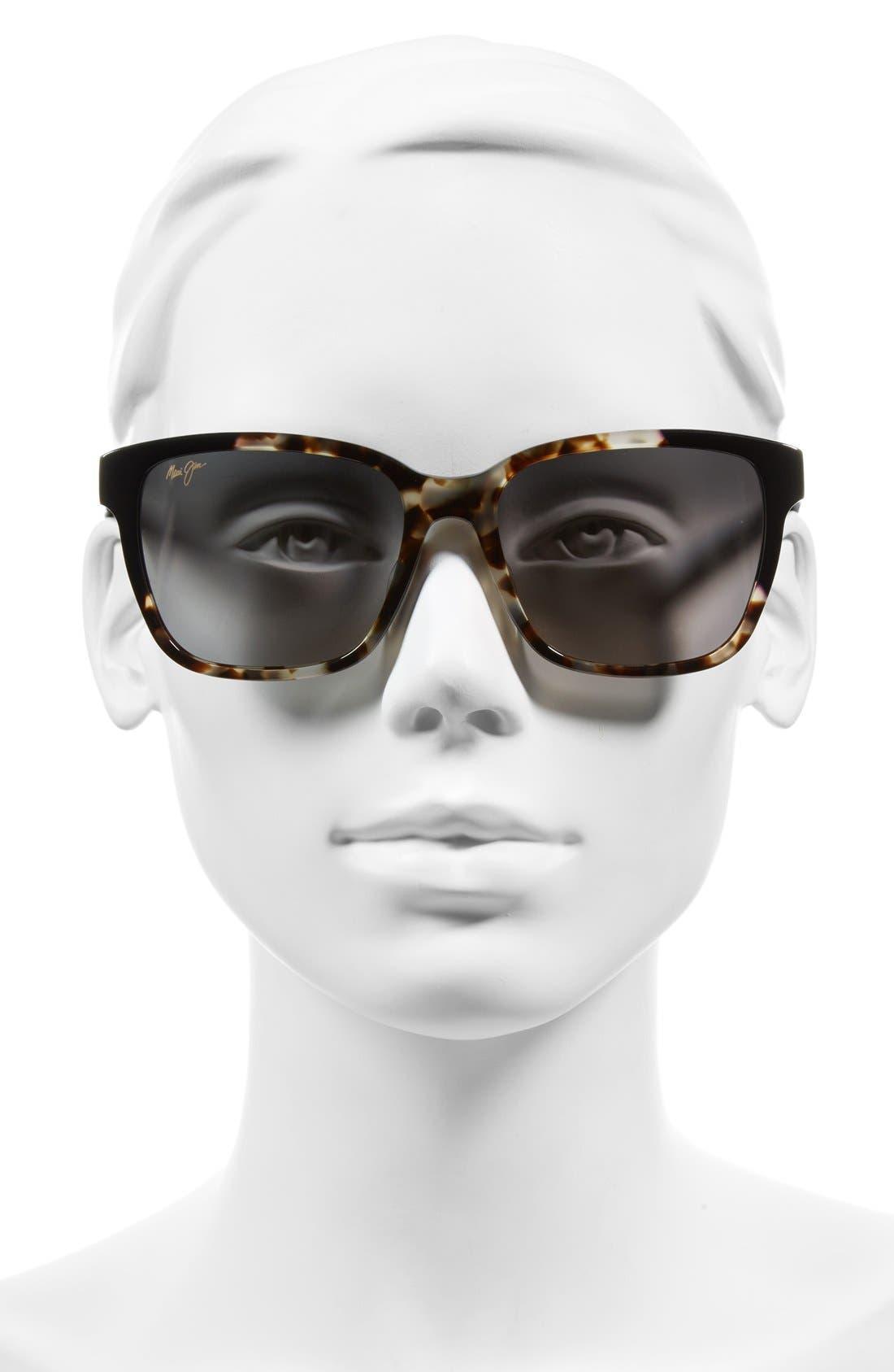 Moonbow 57mm PolarizedPlus2<sup>®</sup> Sunglasses,                             Alternate thumbnail 6, color,