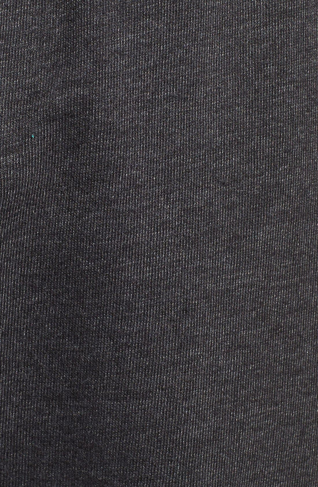 Cutoff Sweatpants,                             Alternate thumbnail 5, color,                             005