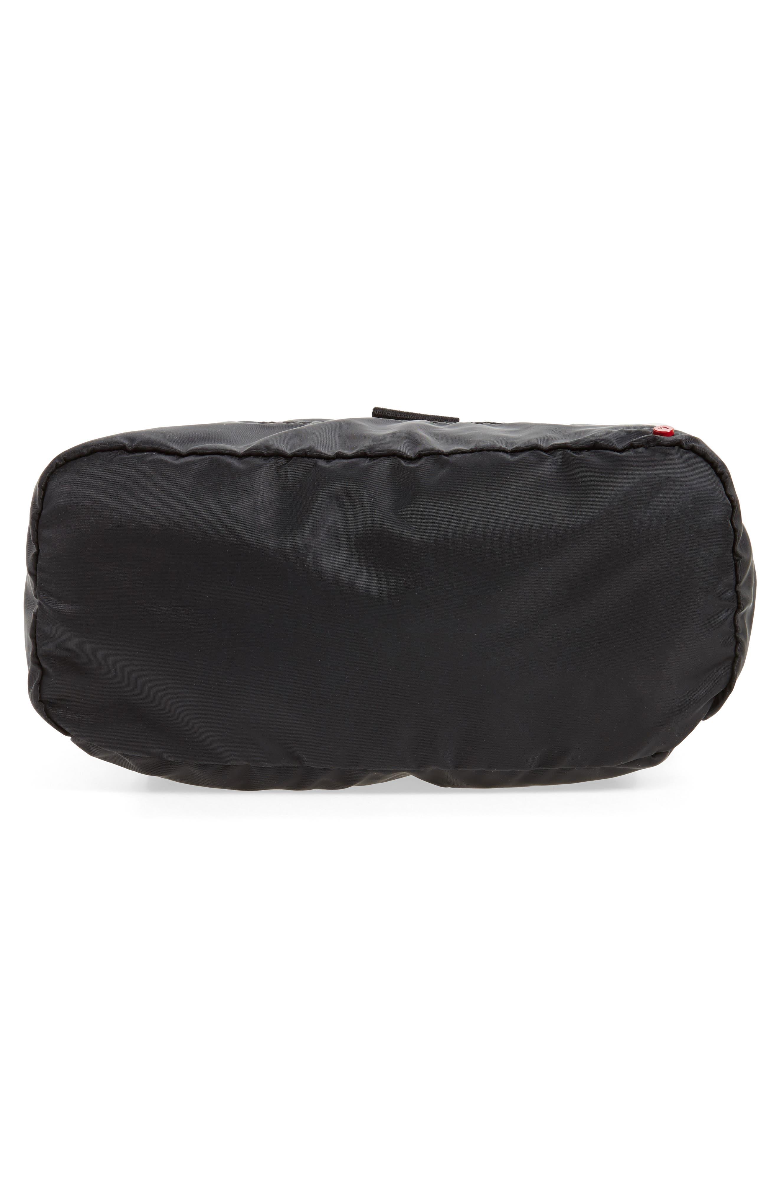 Bond Heights Packable Nylon Backpack,                             Alternate thumbnail 6, color,                             001