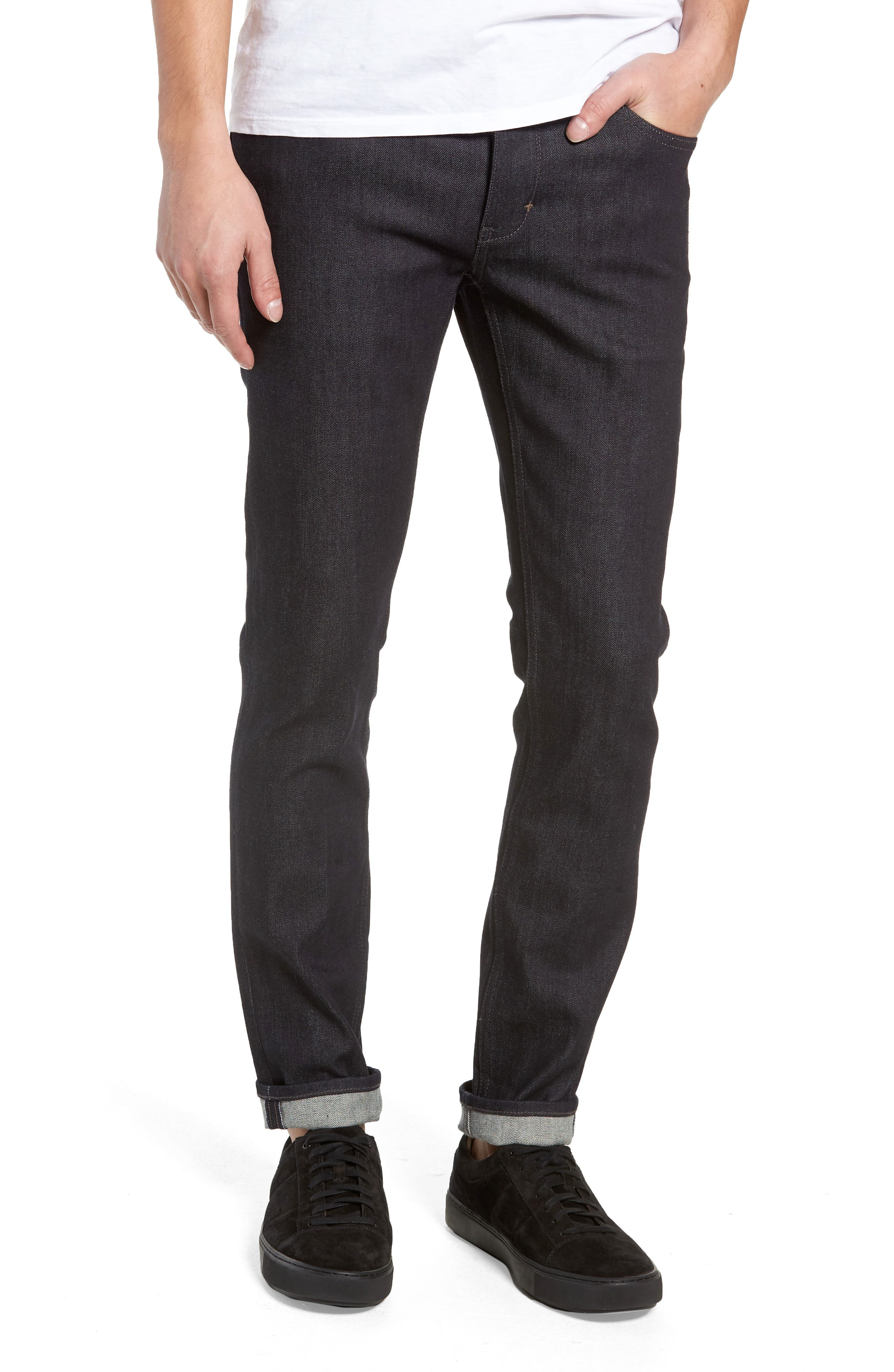 Iggy Skinny Fit Jeans,                             Main thumbnail 1, color,                             DRY