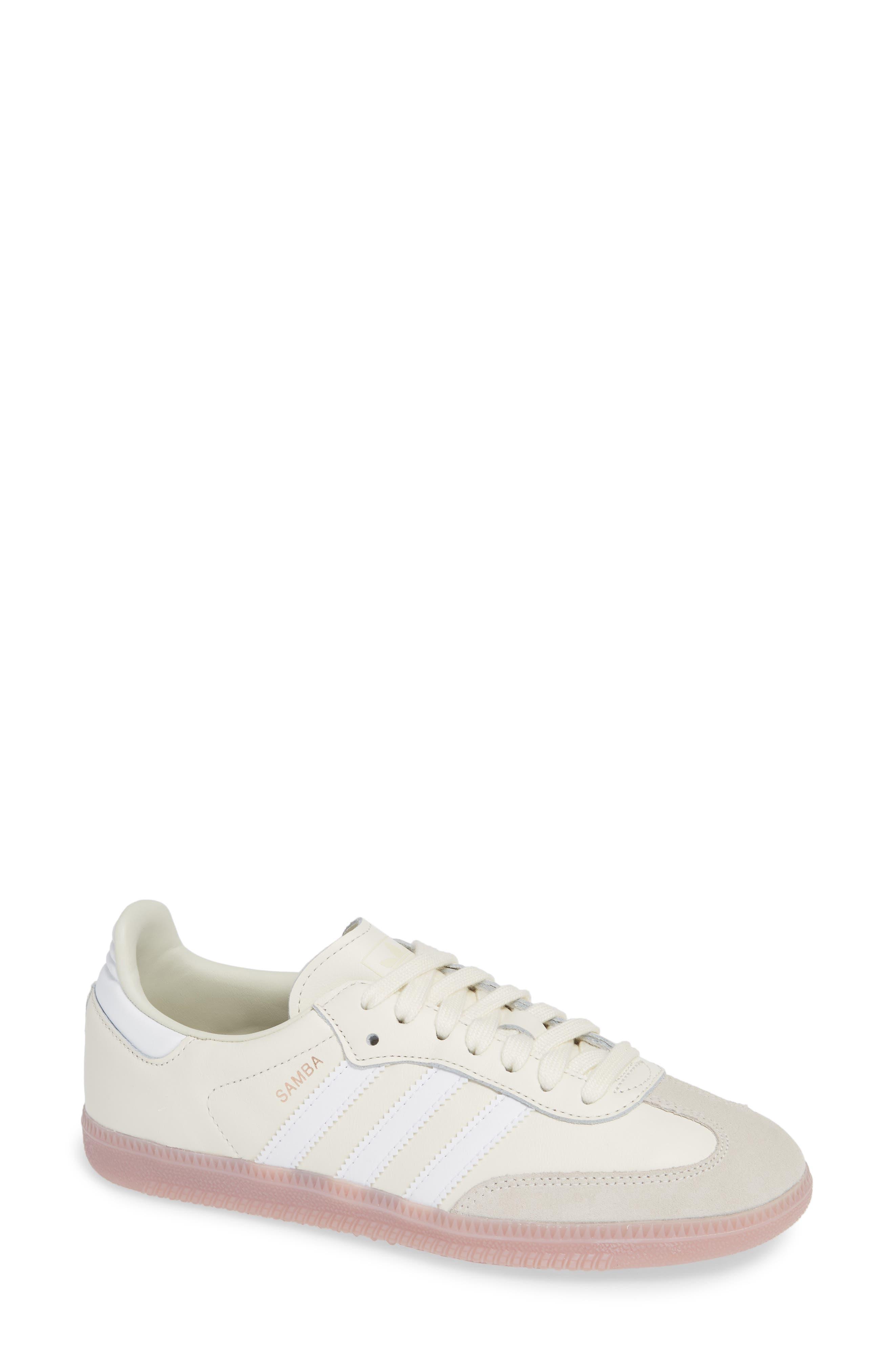 Samba Sneaker,                         Main,                         color, OFF WHITE/ WHITE/ SOFT VISION