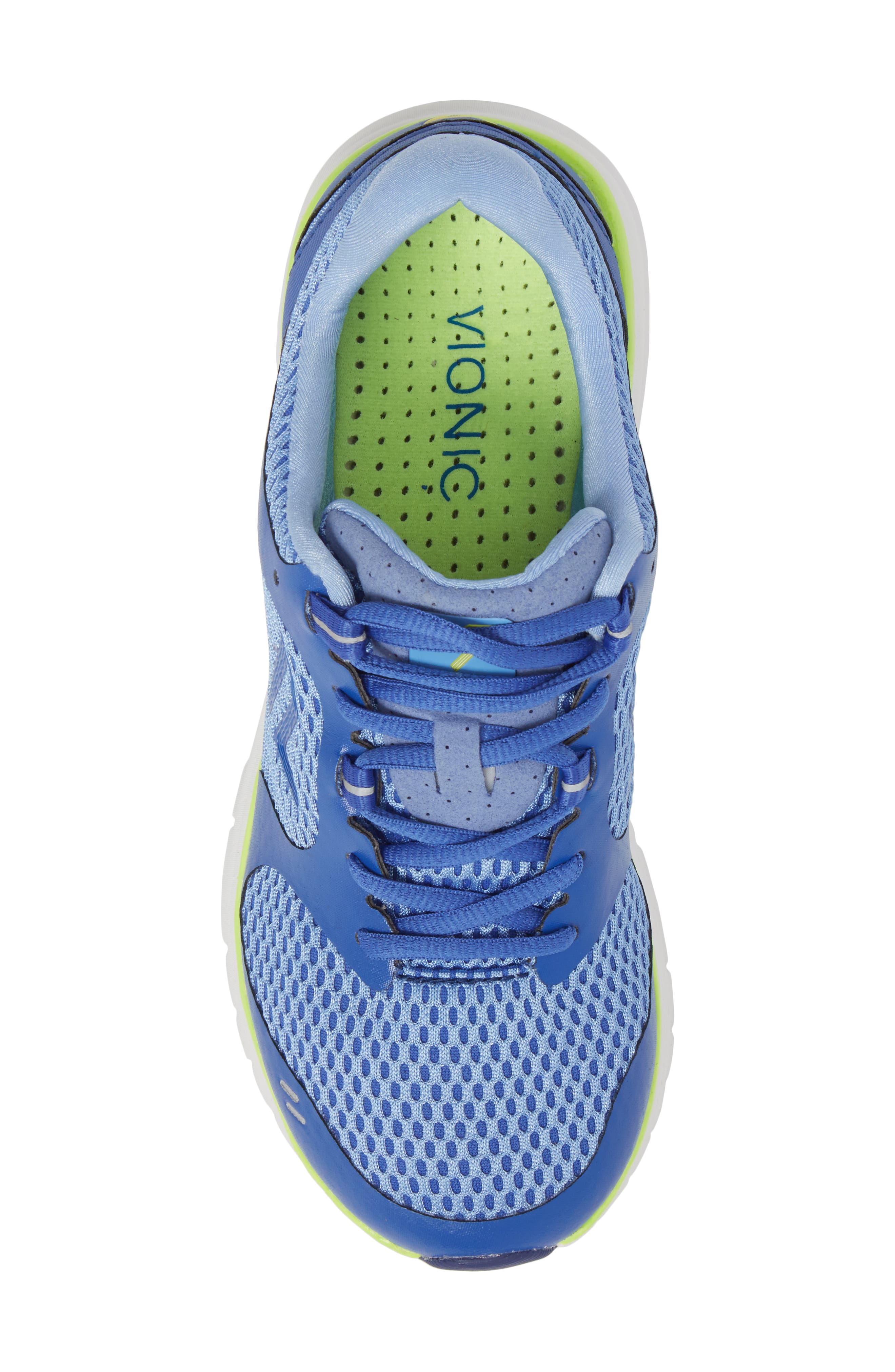Elation Sneaker,                             Alternate thumbnail 5, color,                             BLUE/ YELLOW