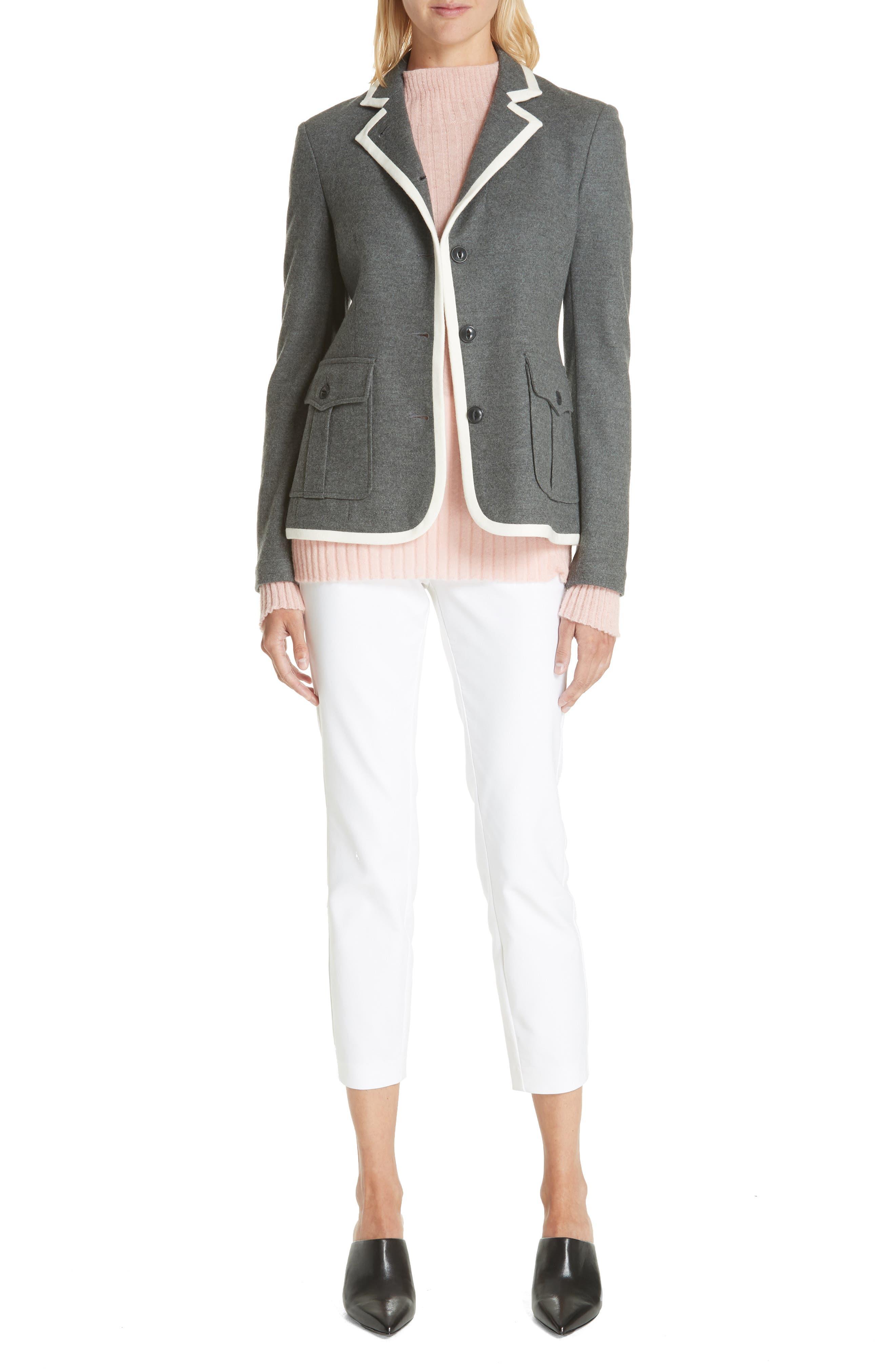 Donna Mohair Blend Sweater,                             Alternate thumbnail 7, color,                             950