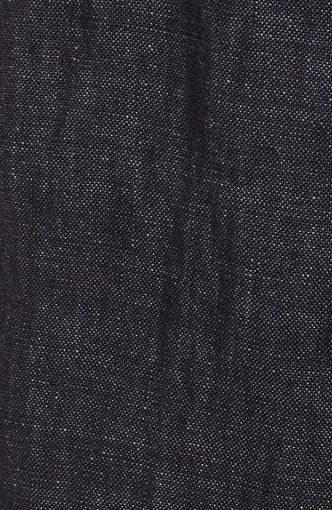 Easy Ankle Organic Linen Pants,                             Alternate thumbnail 6, color,                             080