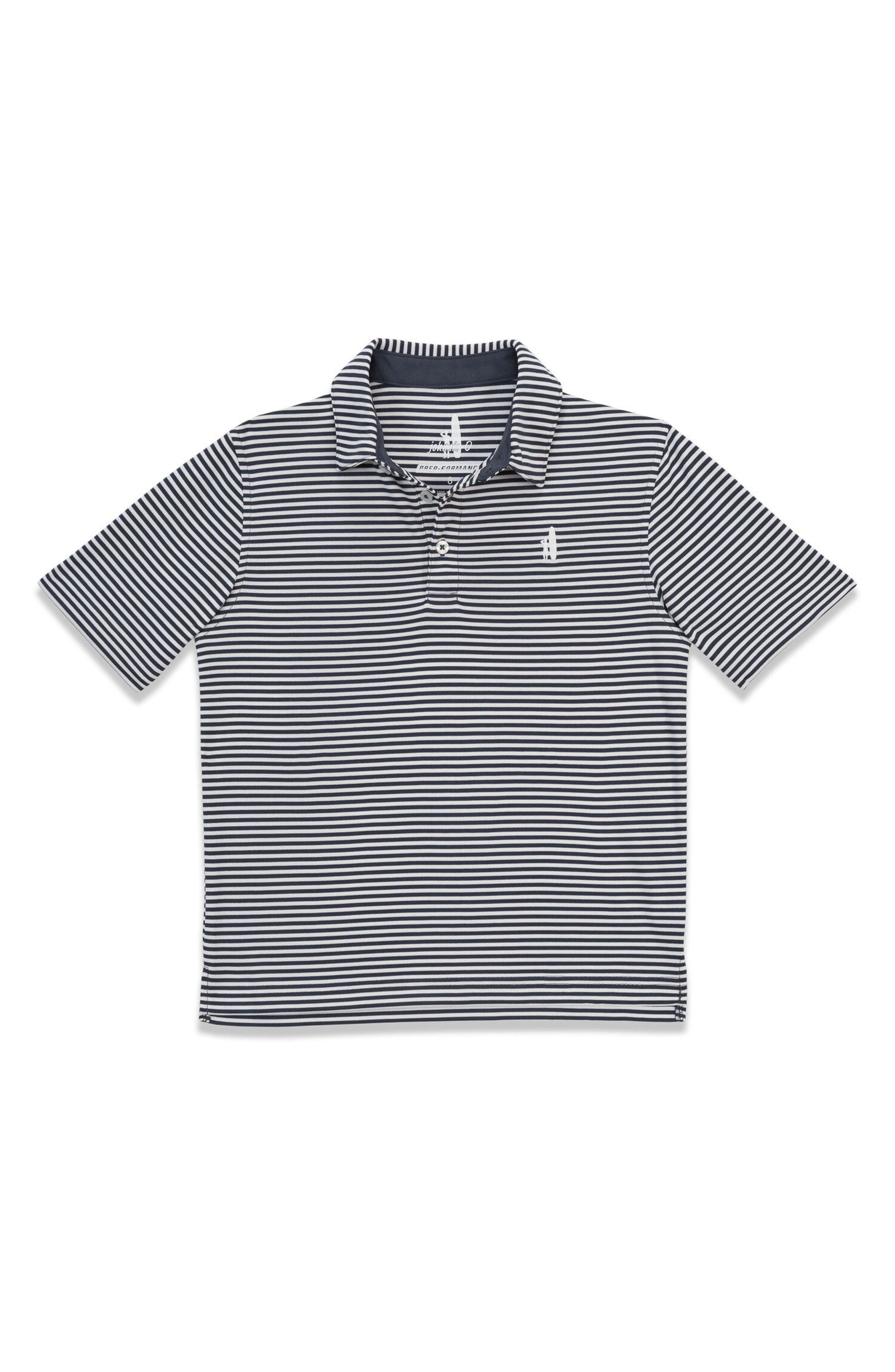 Bunker Striped Polo,                             Main thumbnail 1, color,                             402