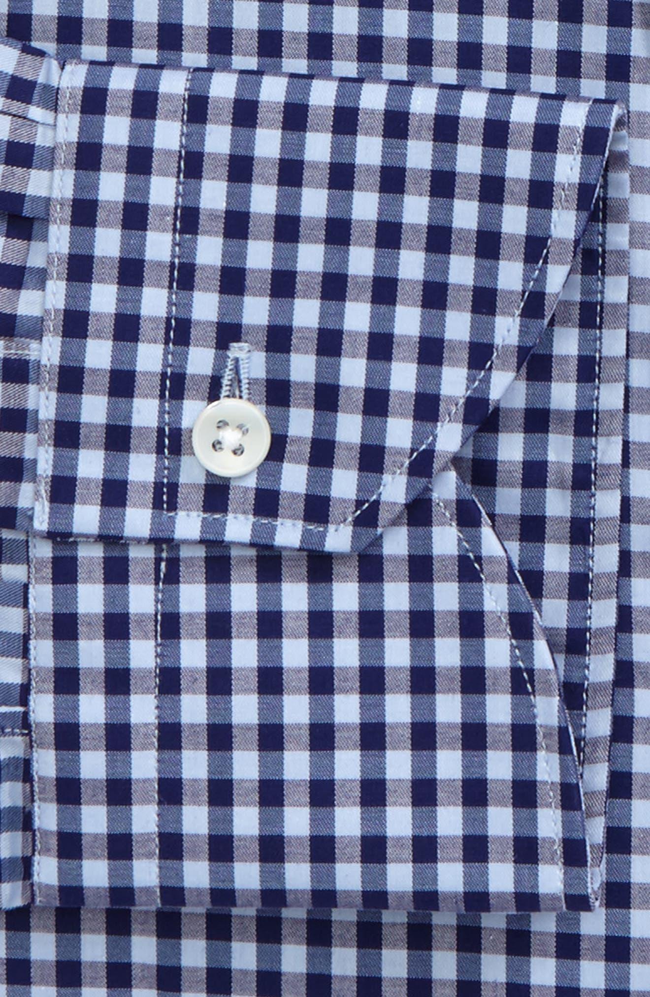 Regular Fit Check Dress Shirt,                             Alternate thumbnail 2, color,                             400