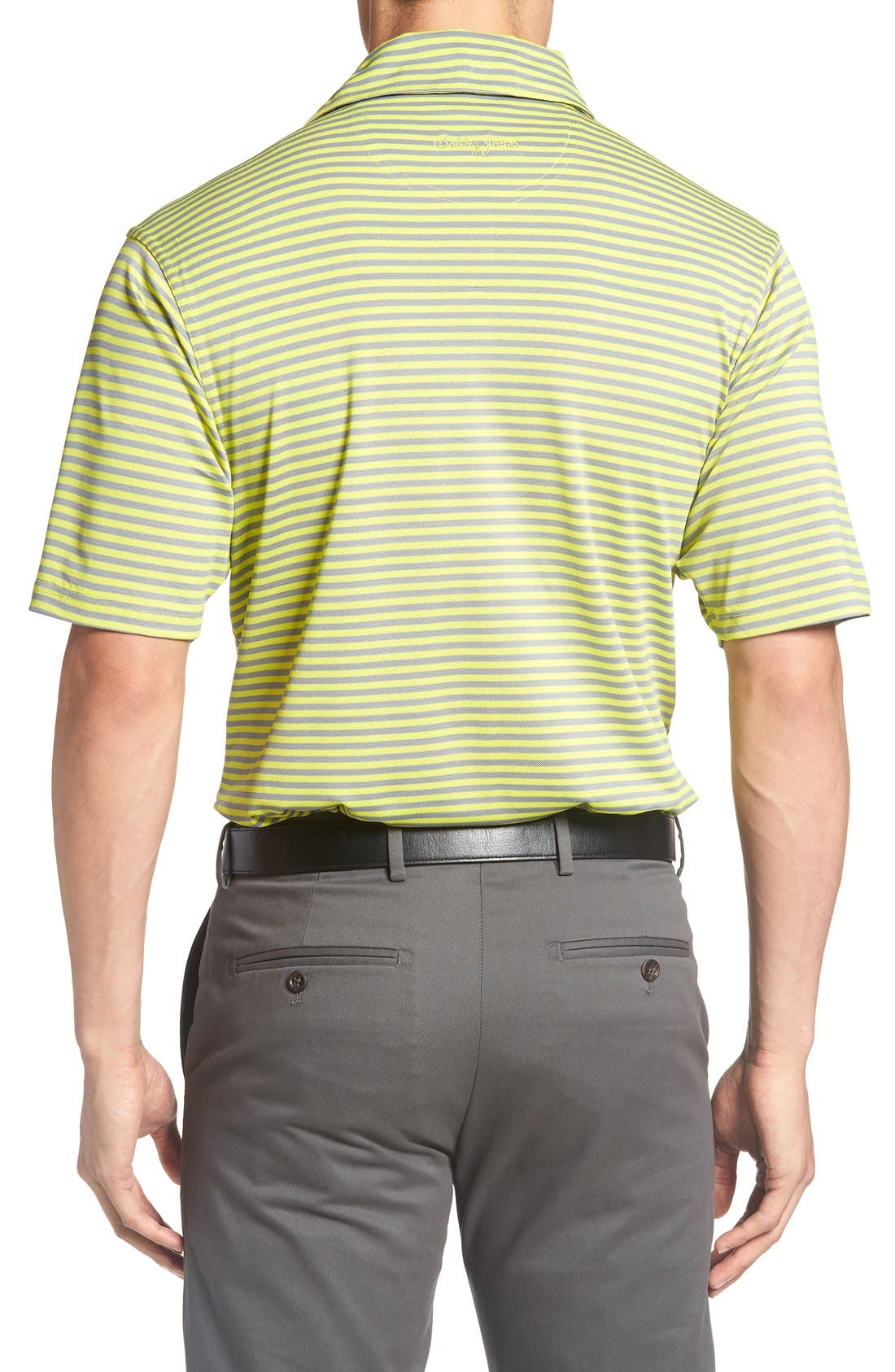 XH2O Feed Stripe Stretch Golf Polo,                             Alternate thumbnail 36, color,