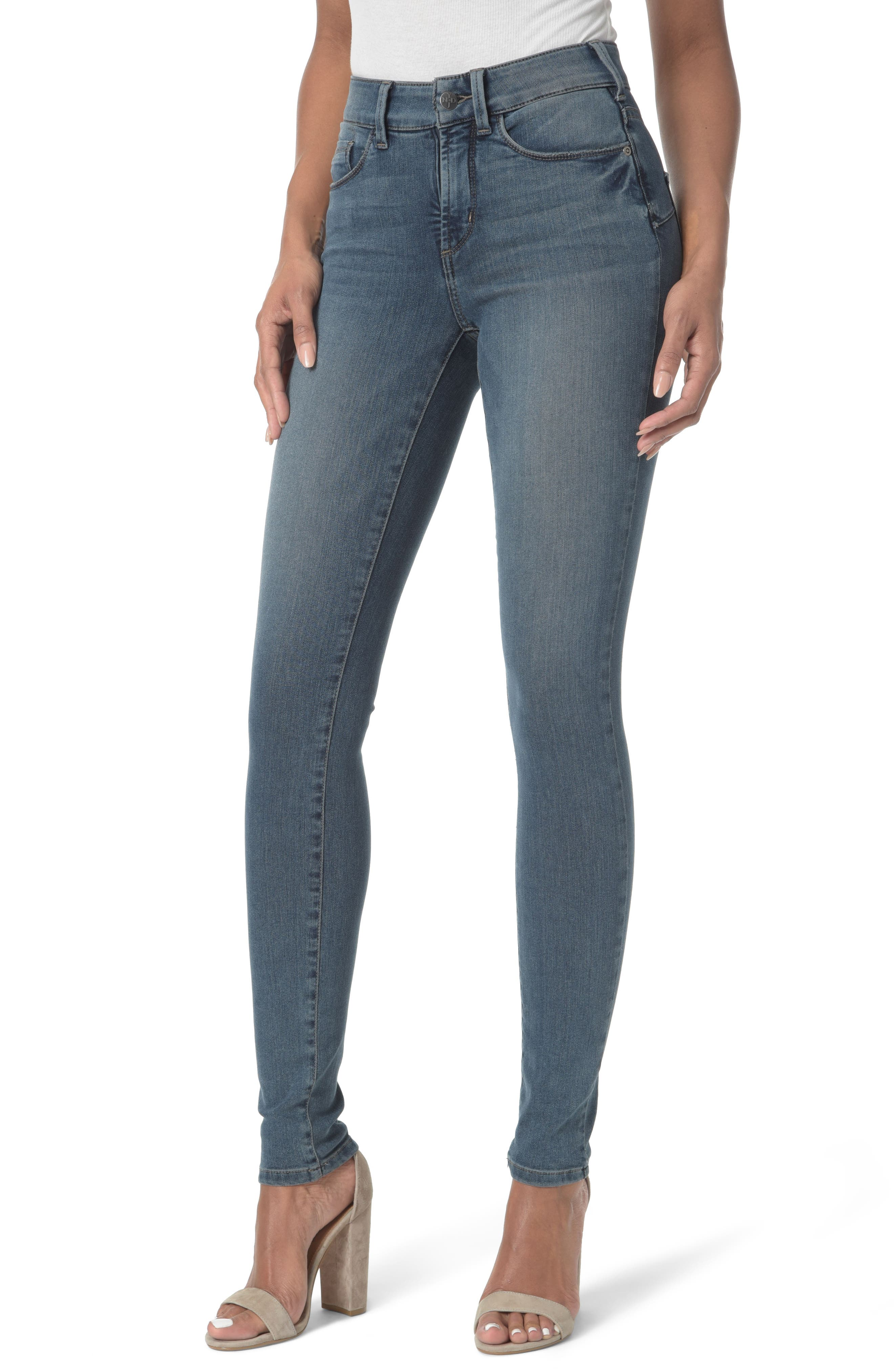 Alina Uplift Stretch Skinny Jeans,                             Main thumbnail 1, color,                             403