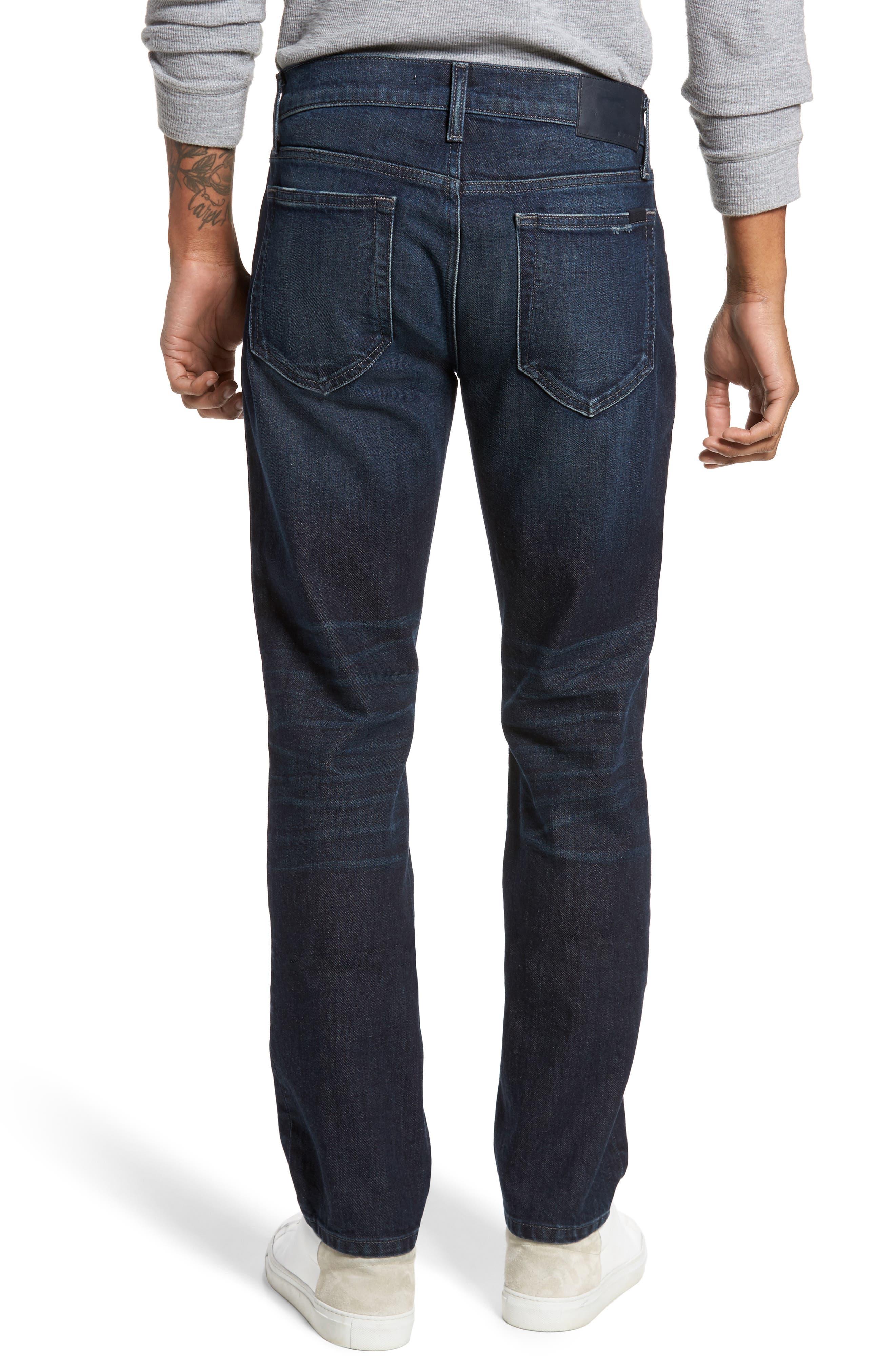 Brixton Slim Straight Leg Jeans,                             Alternate thumbnail 2, color,                             415