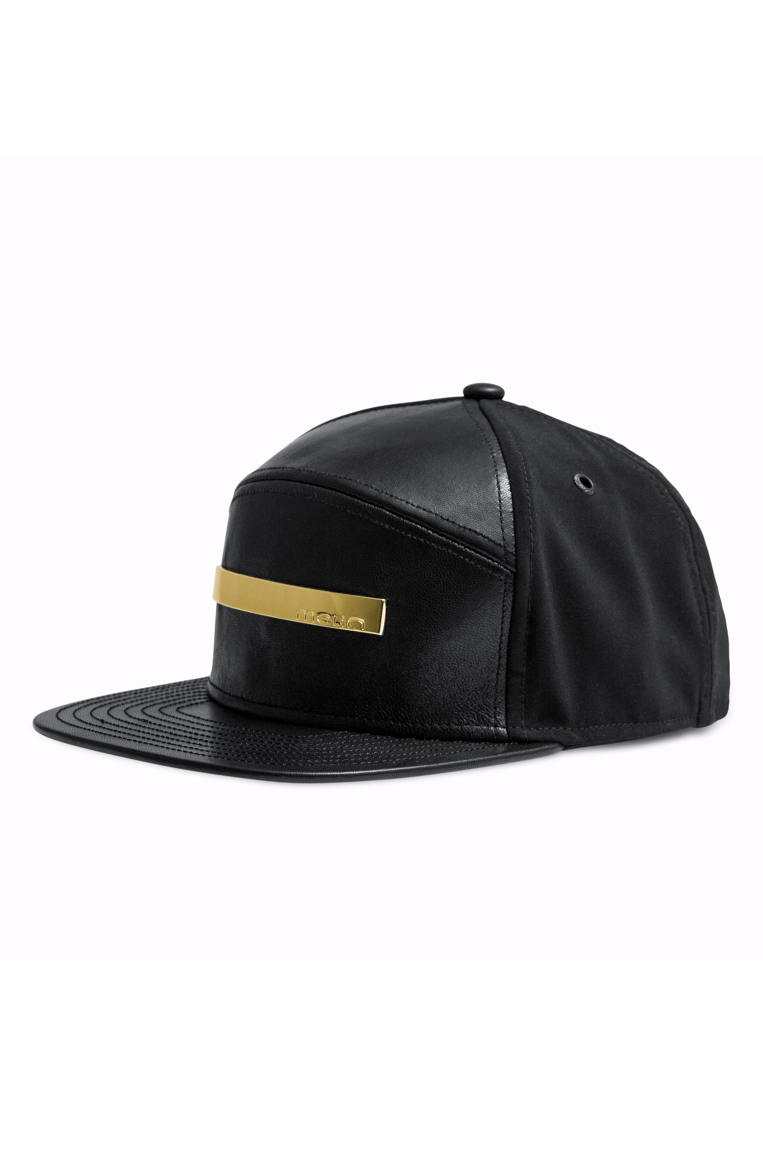 The Bar Baseball Cap,                             Main thumbnail 1, color,                             BLACK GOLD