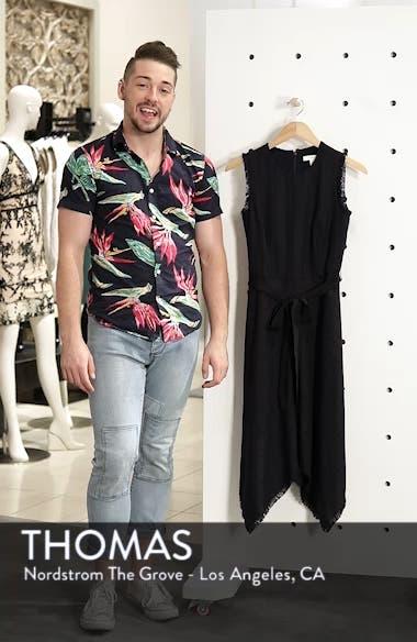 Tie Waist Tweed Midi Dress, sales video thumbnail