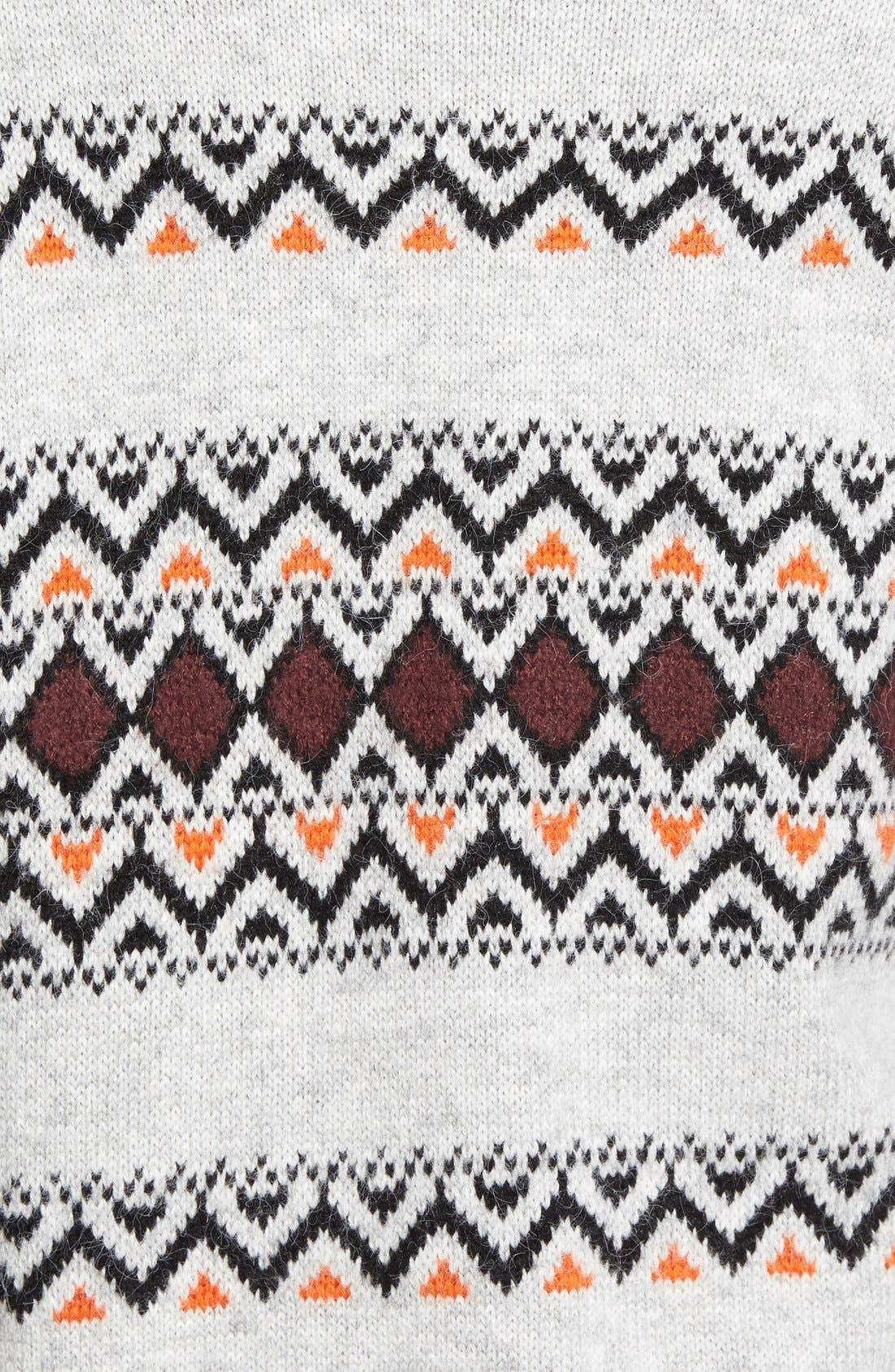 Patterned Long Cardigan,                             Alternate thumbnail 2, color,                             050