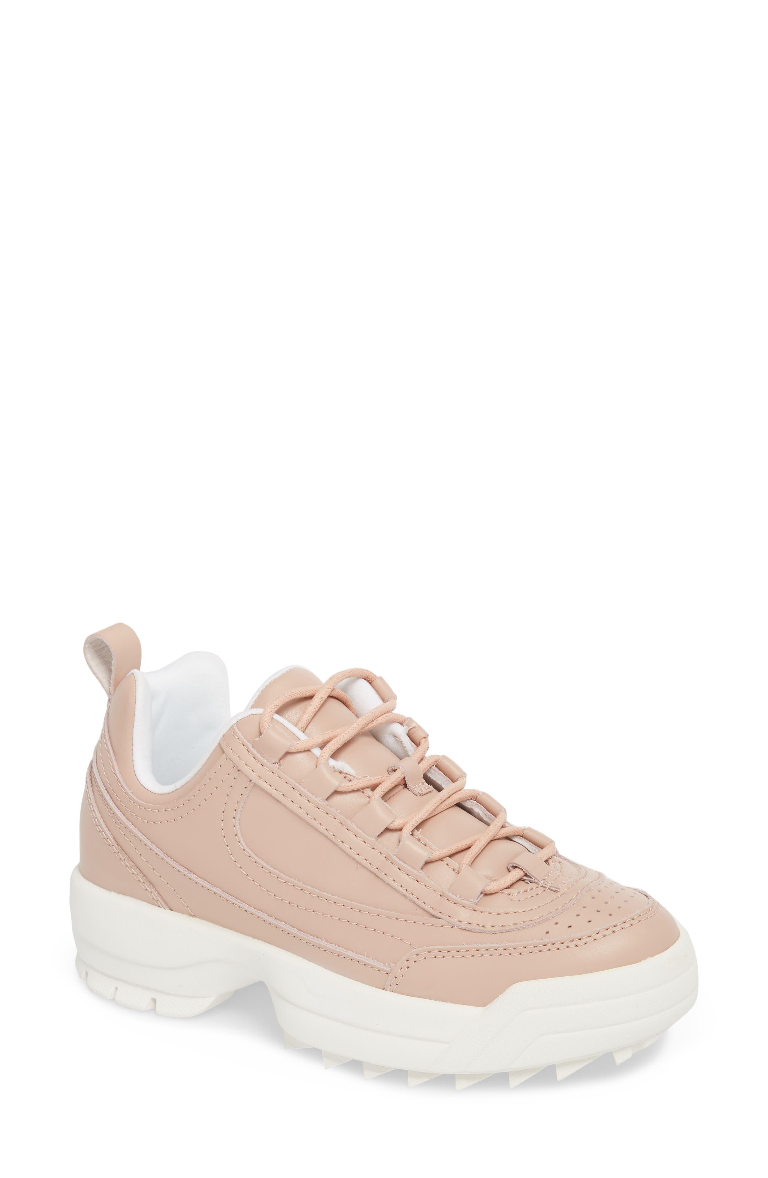 Sidekick Platform Sneaker,                         Main,                         color, NUDE LEATHER