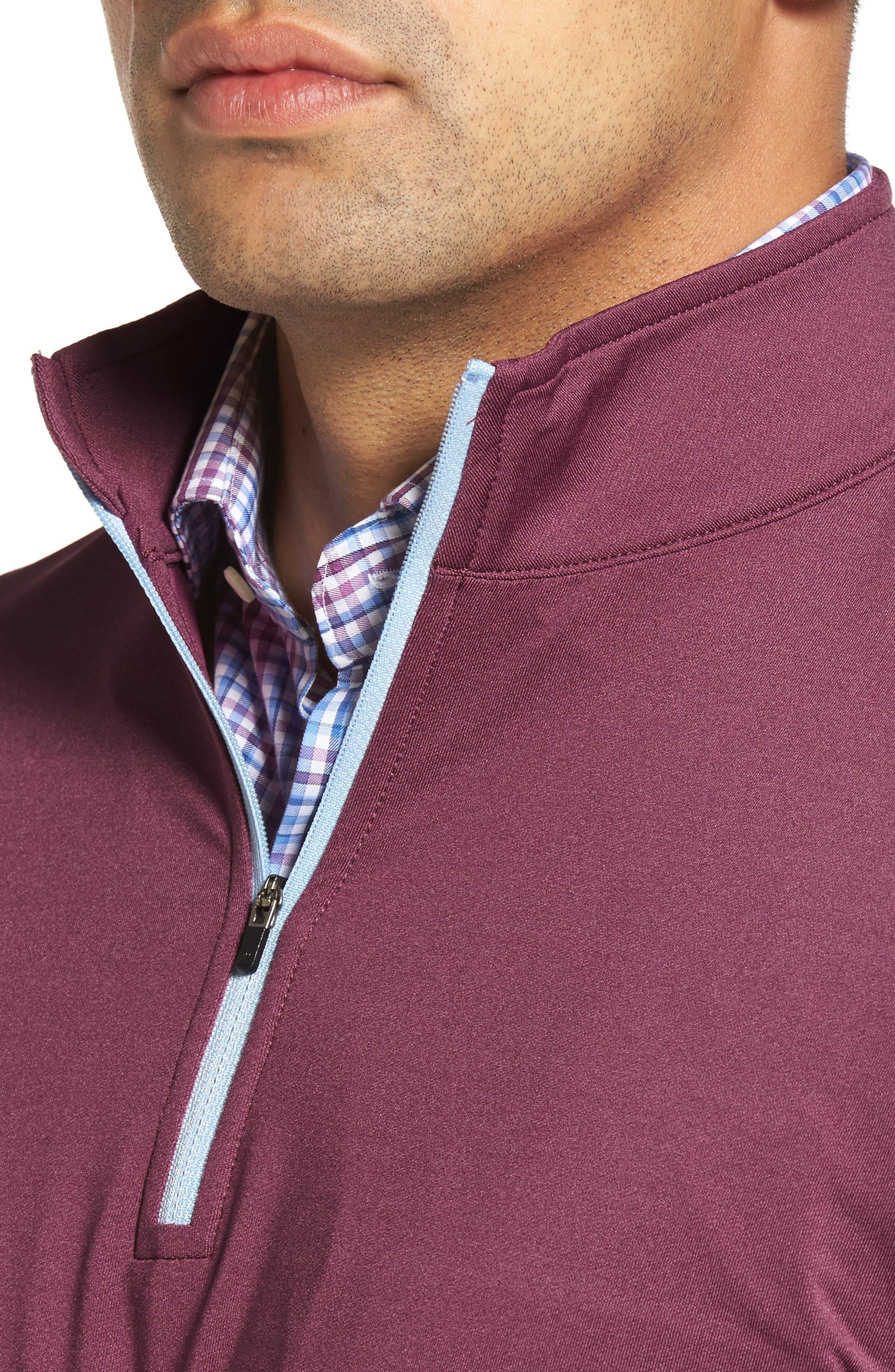 Perth Quarter Zip Stretch Pullover,                             Alternate thumbnail 20, color,