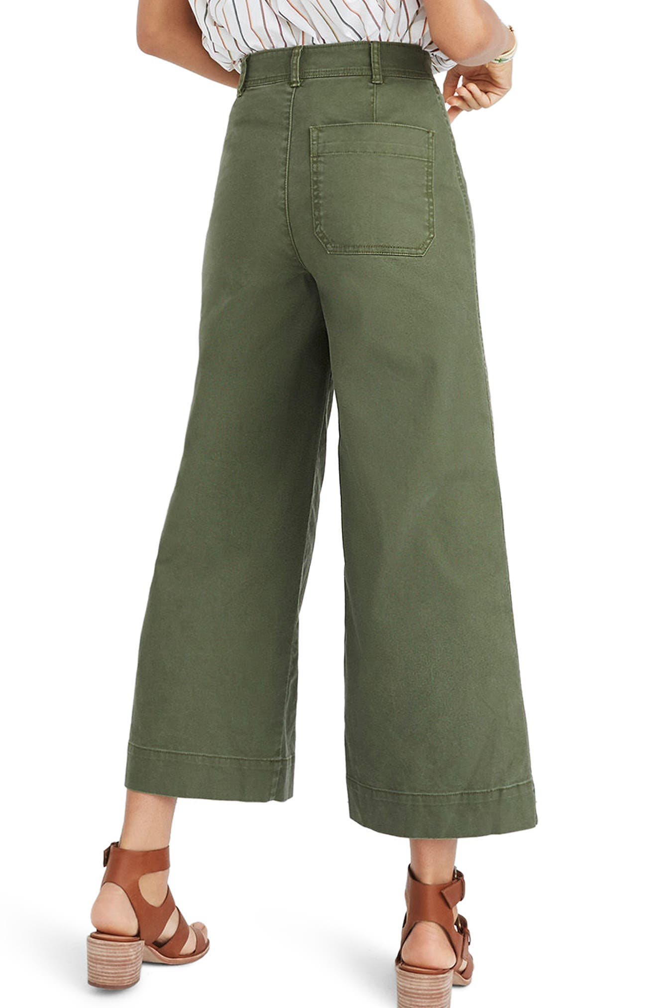 Emmett Crop Wide Leg Pants,                             Alternate thumbnail 7, color,