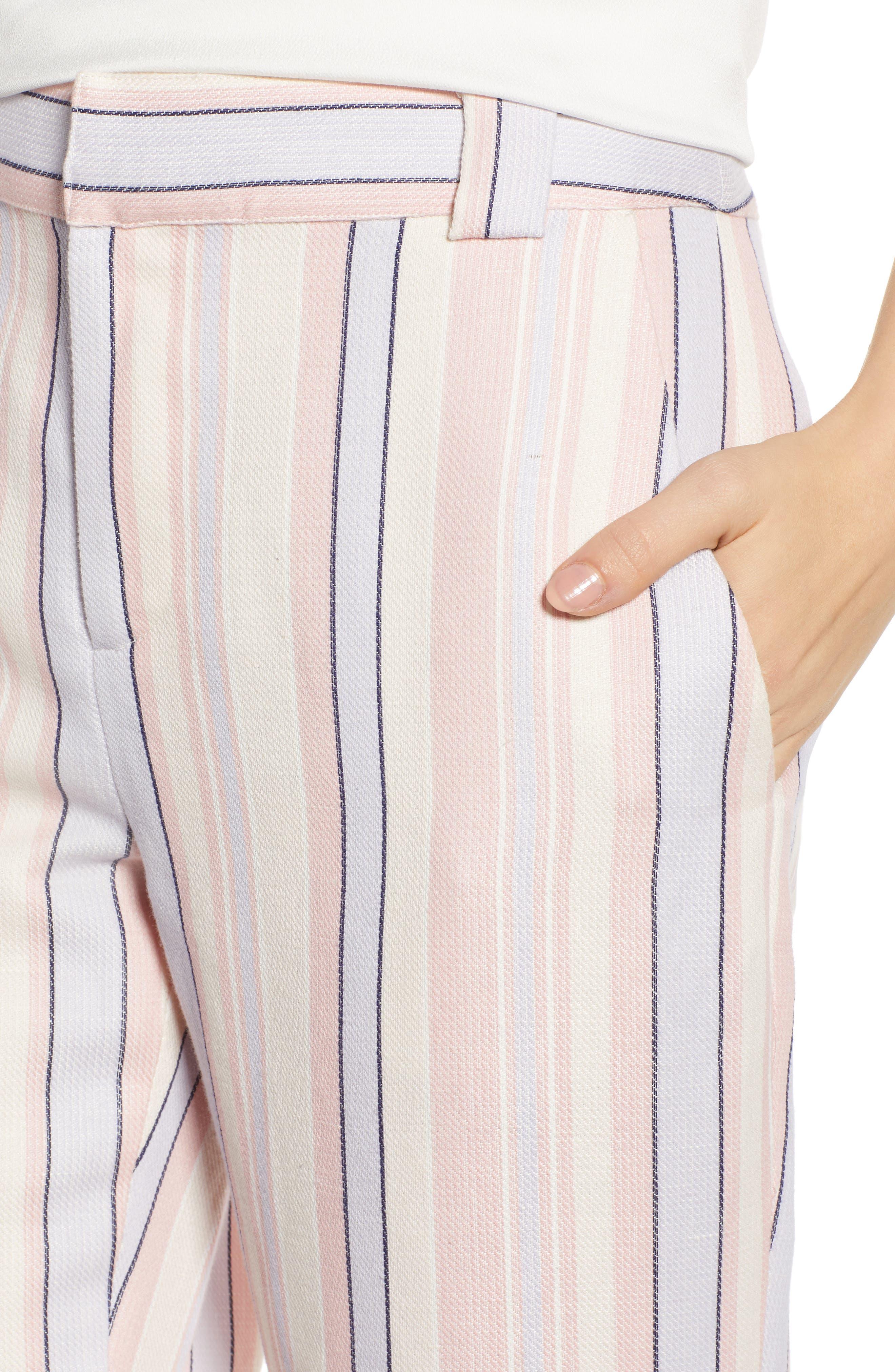 Ginger Stripe Pants,                             Alternate thumbnail 4, color,                             MULTI