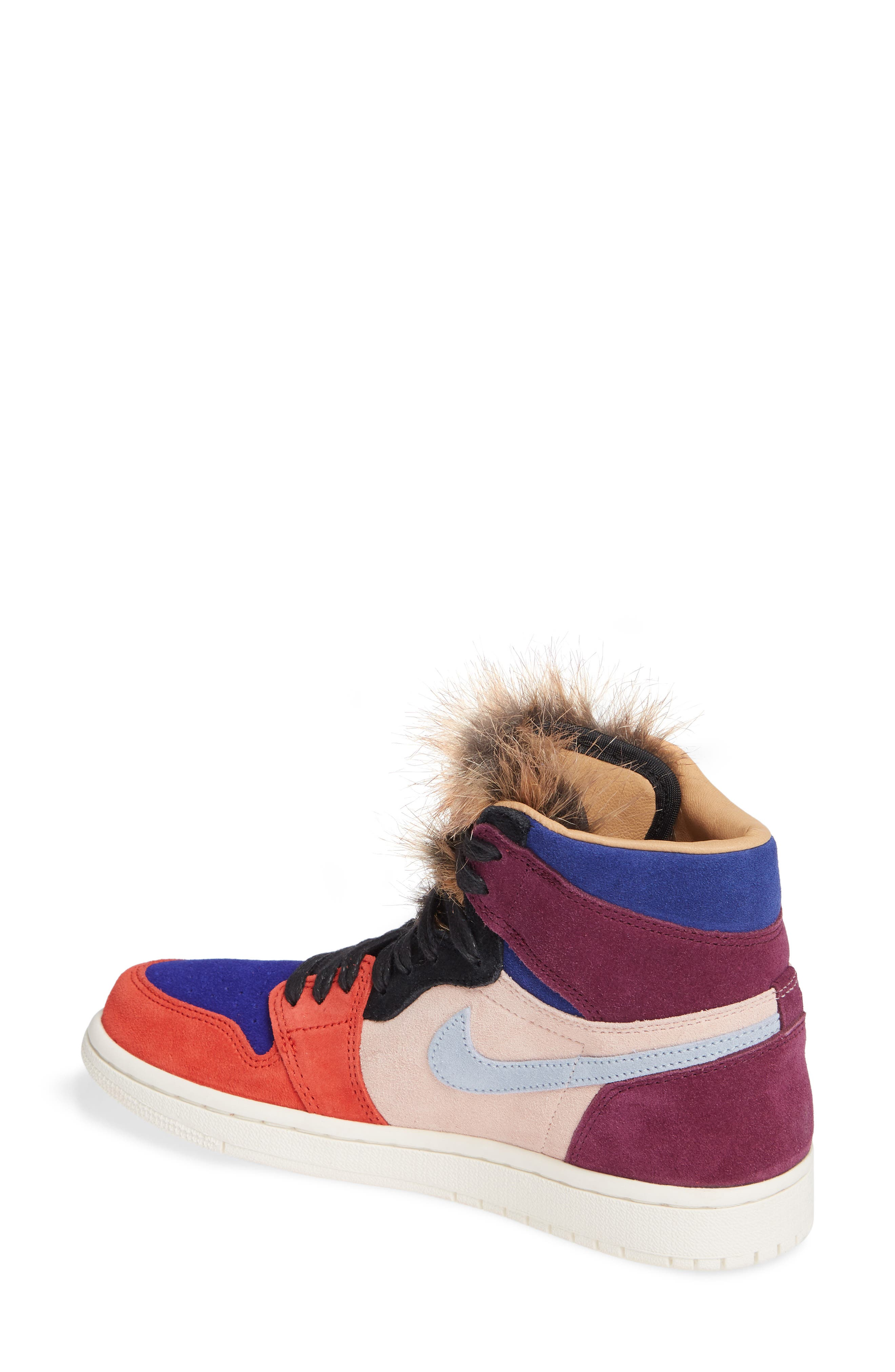 Nike Air Jordan 1 High OG Sneaker,                             Alternate thumbnail 2, color,                             600
