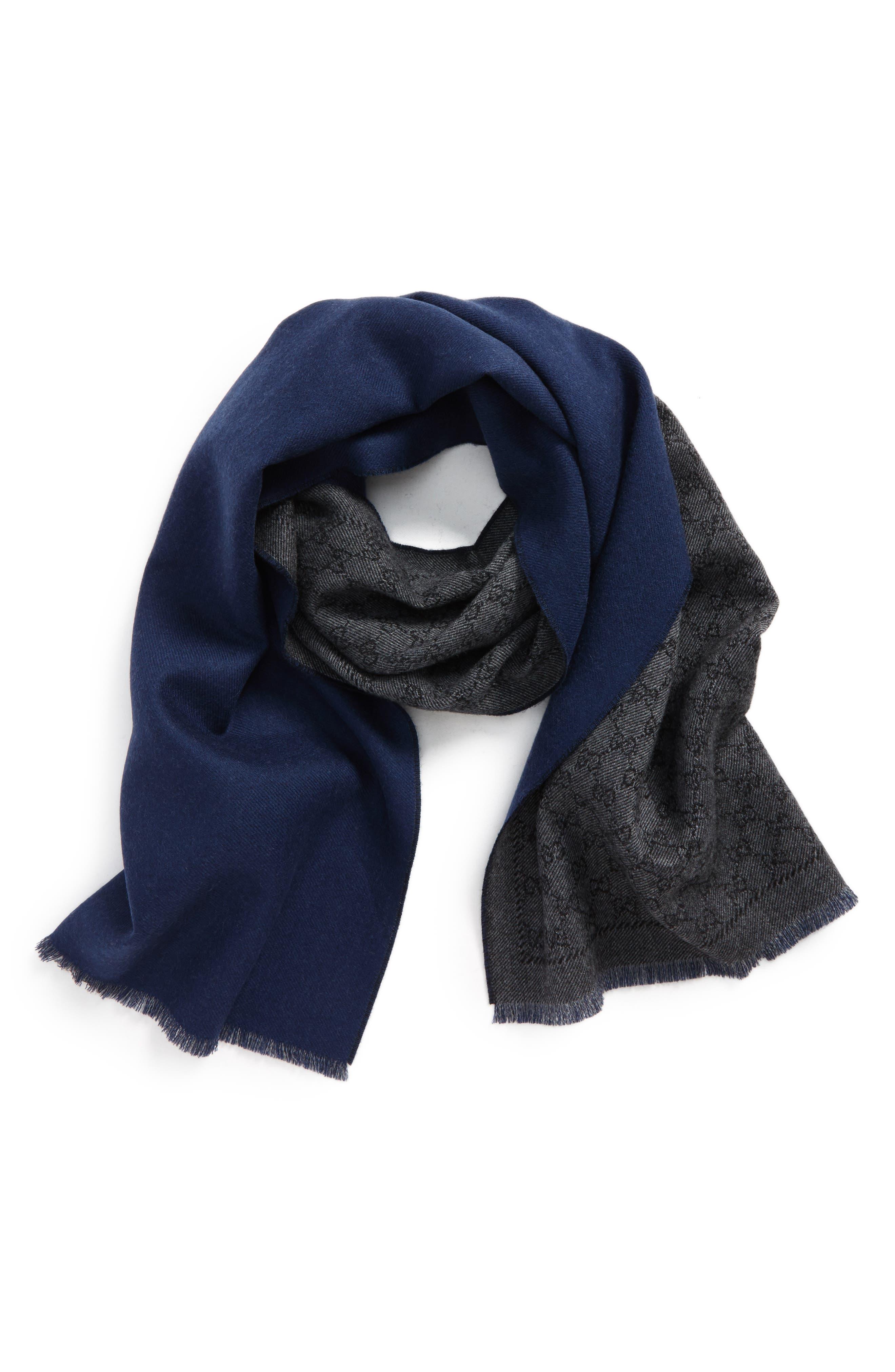 Lonar Wool Jacquard Scarf,                         Main,                         color,