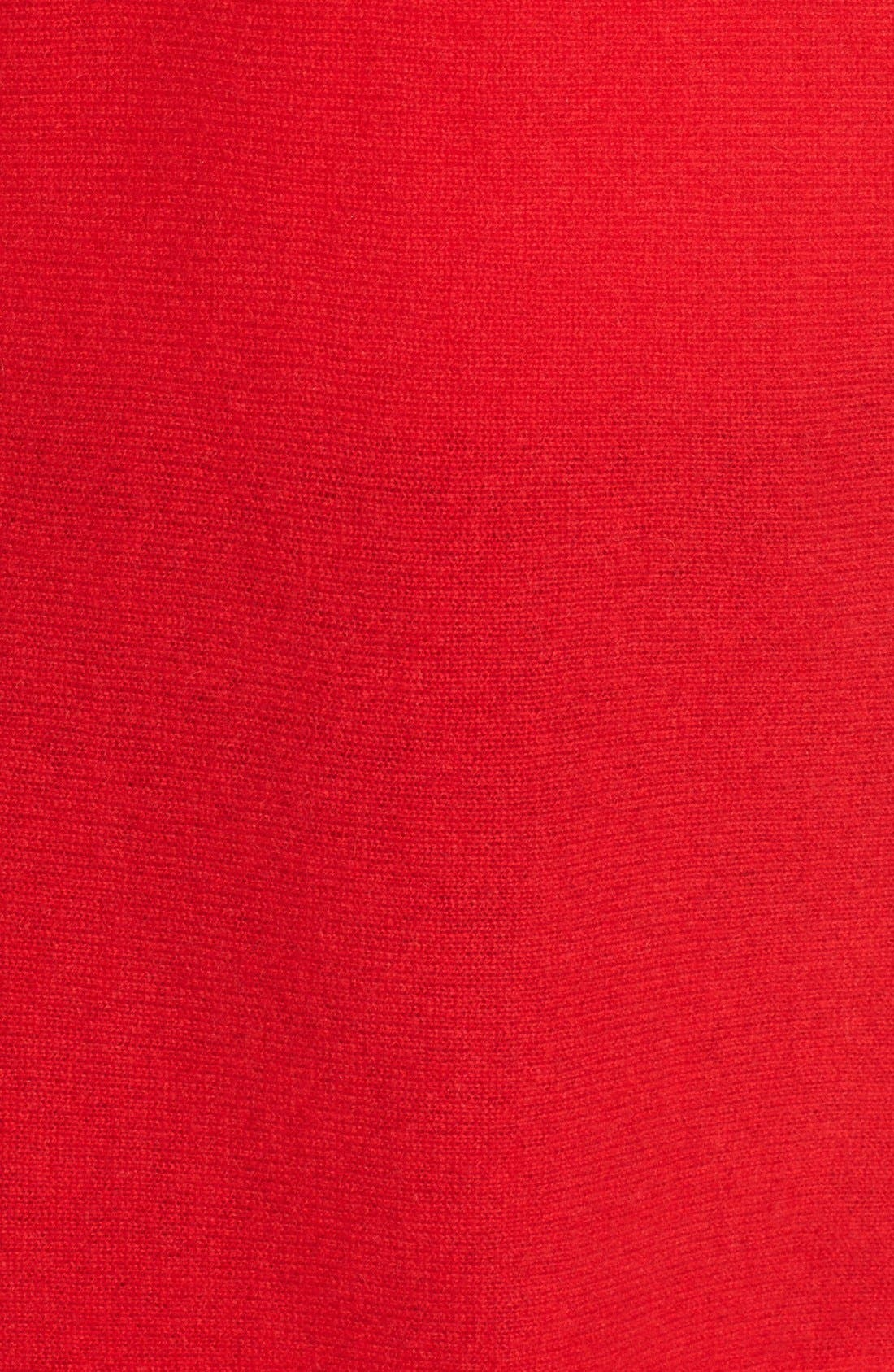 High/Low Wool & Cashmere Tunic Sweater,                             Alternate thumbnail 99, color,