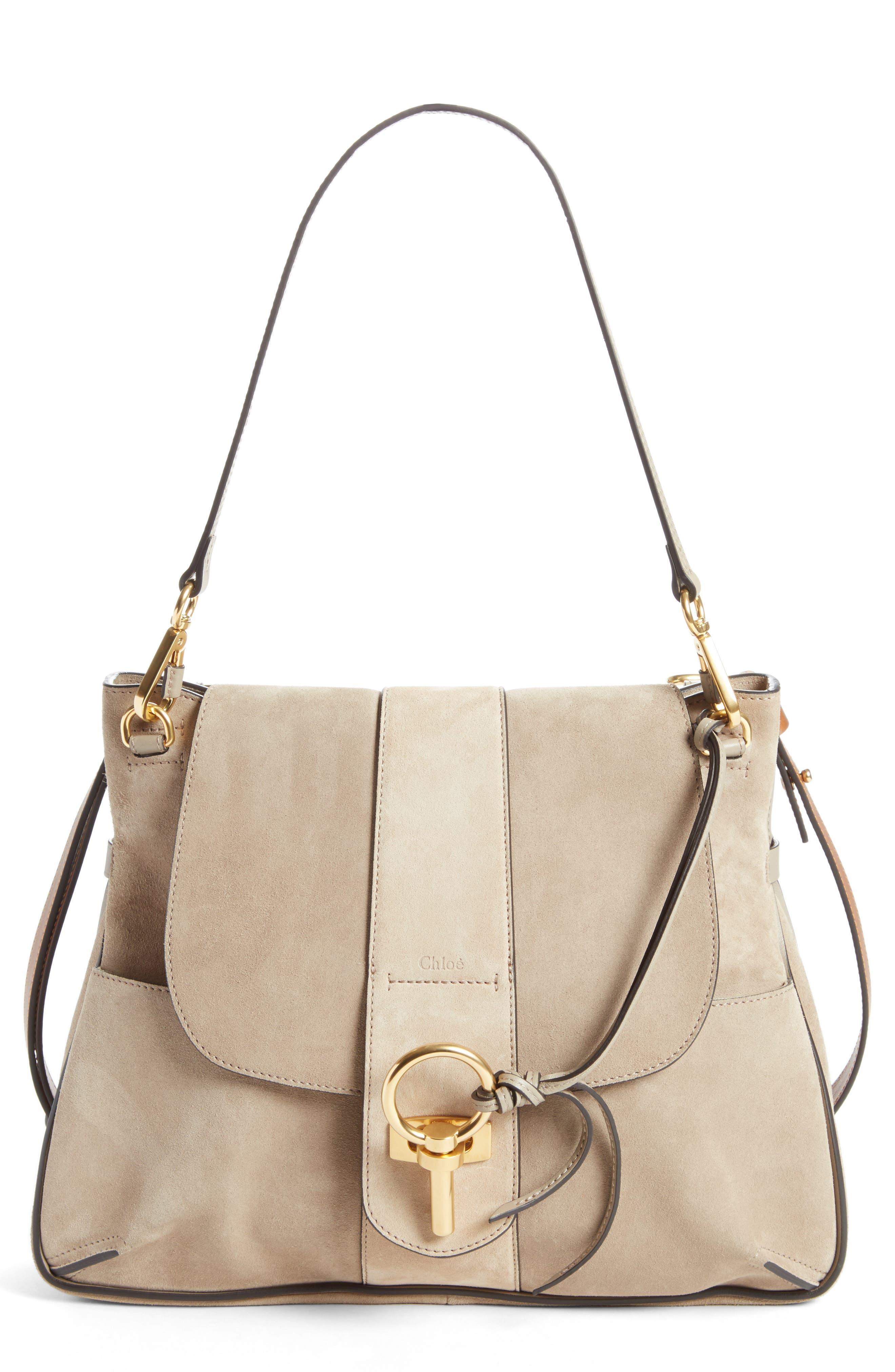 Medium Lexa Leather Shoulder Bag,                         Main,                         color, 031
