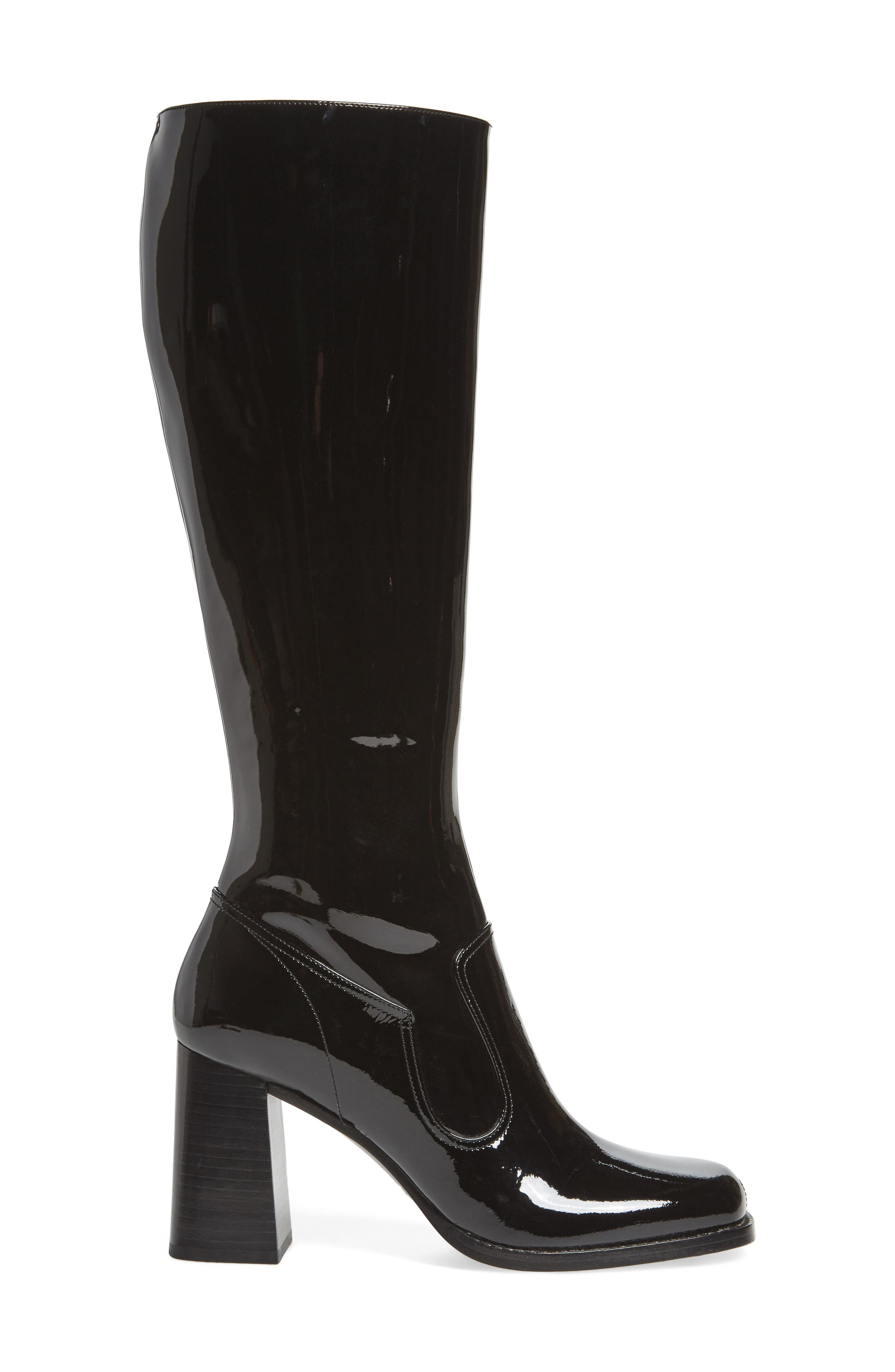 Maryna Tall Boot,                             Alternate thumbnail 3, color,                             001