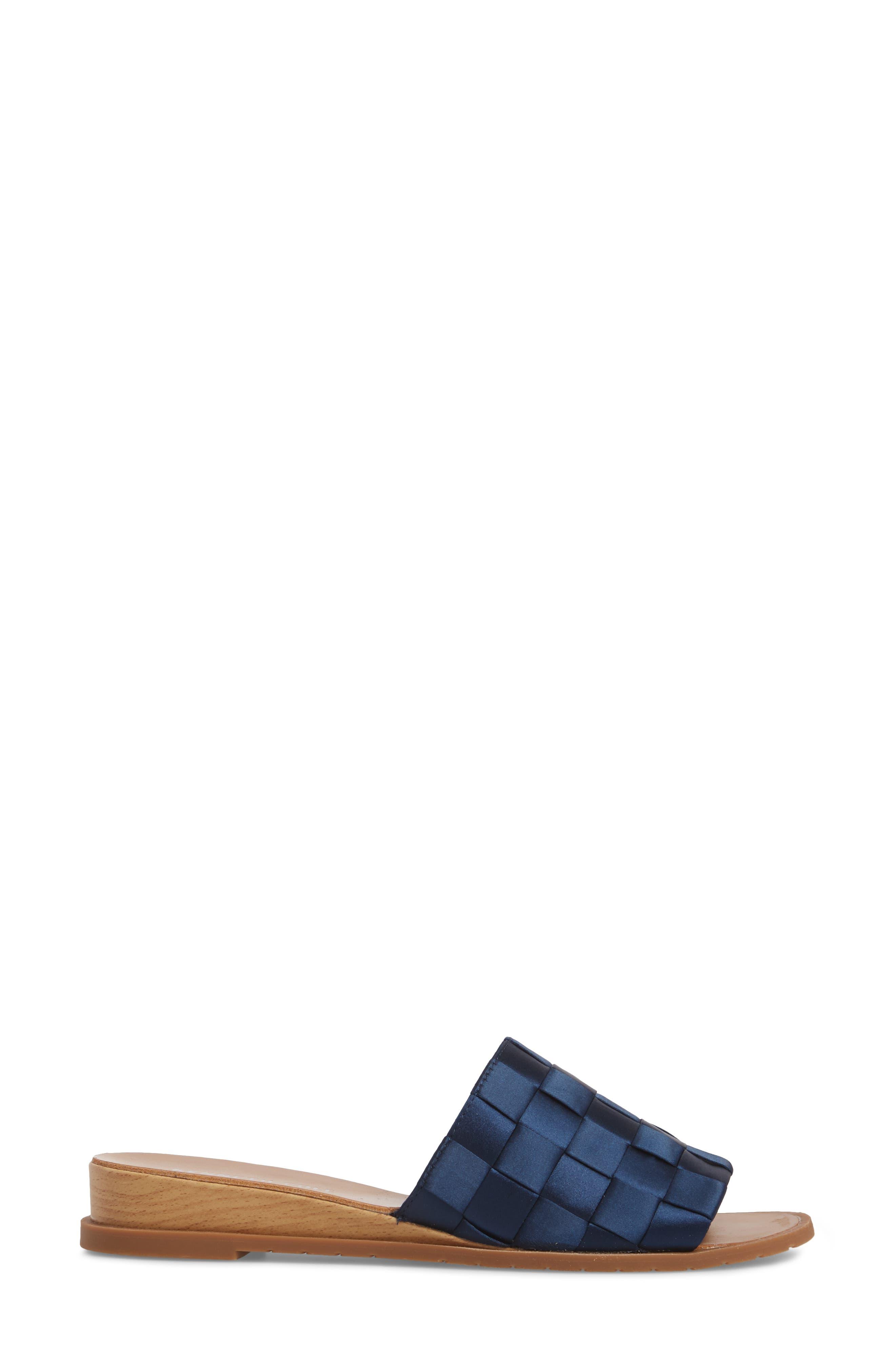 Joanne Flower Embroidered Slide Sandal,                             Alternate thumbnail 19, color,