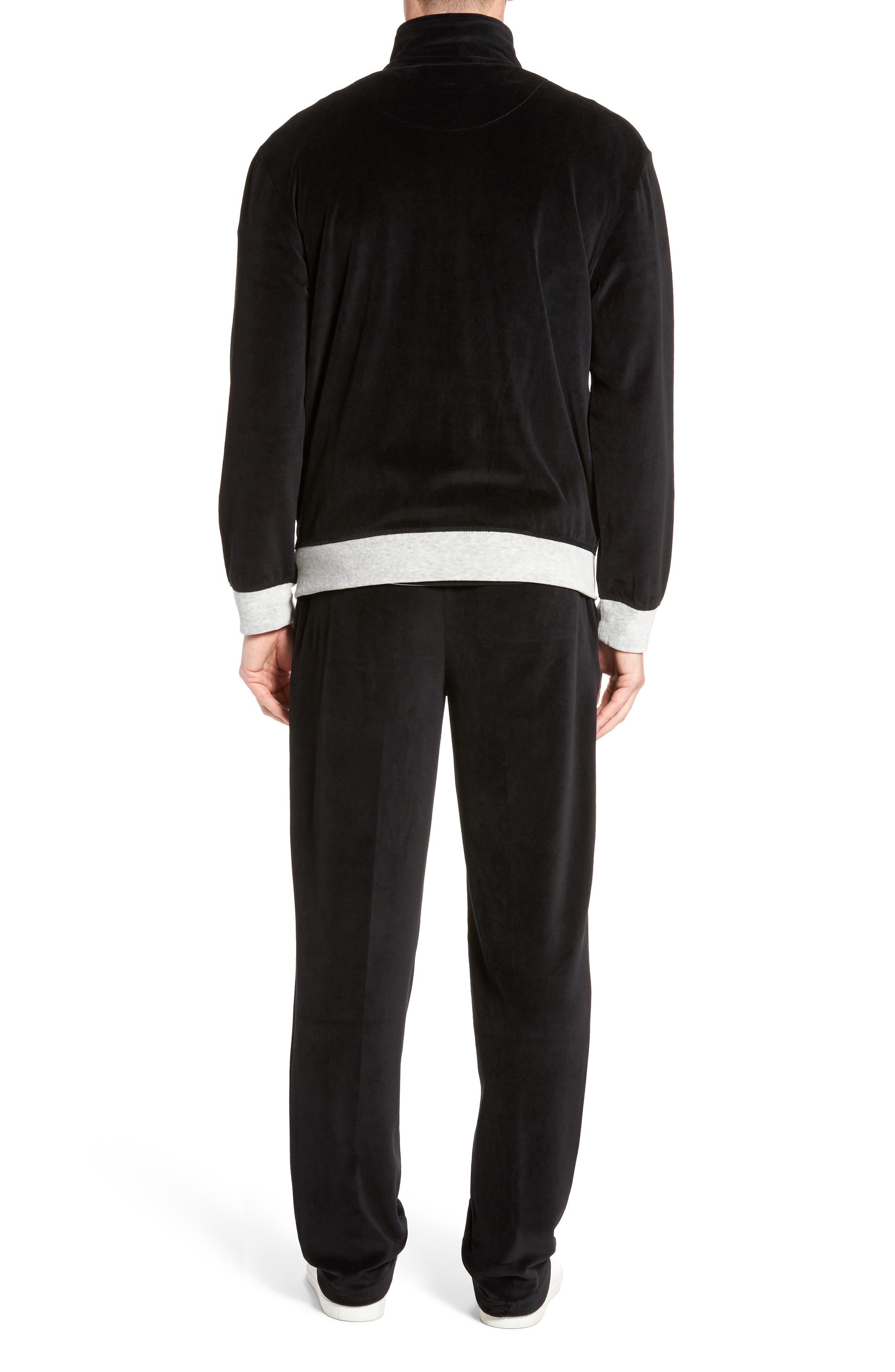 Strathcona Velour Warm-Up Suit,                             Alternate thumbnail 2, color,                             001