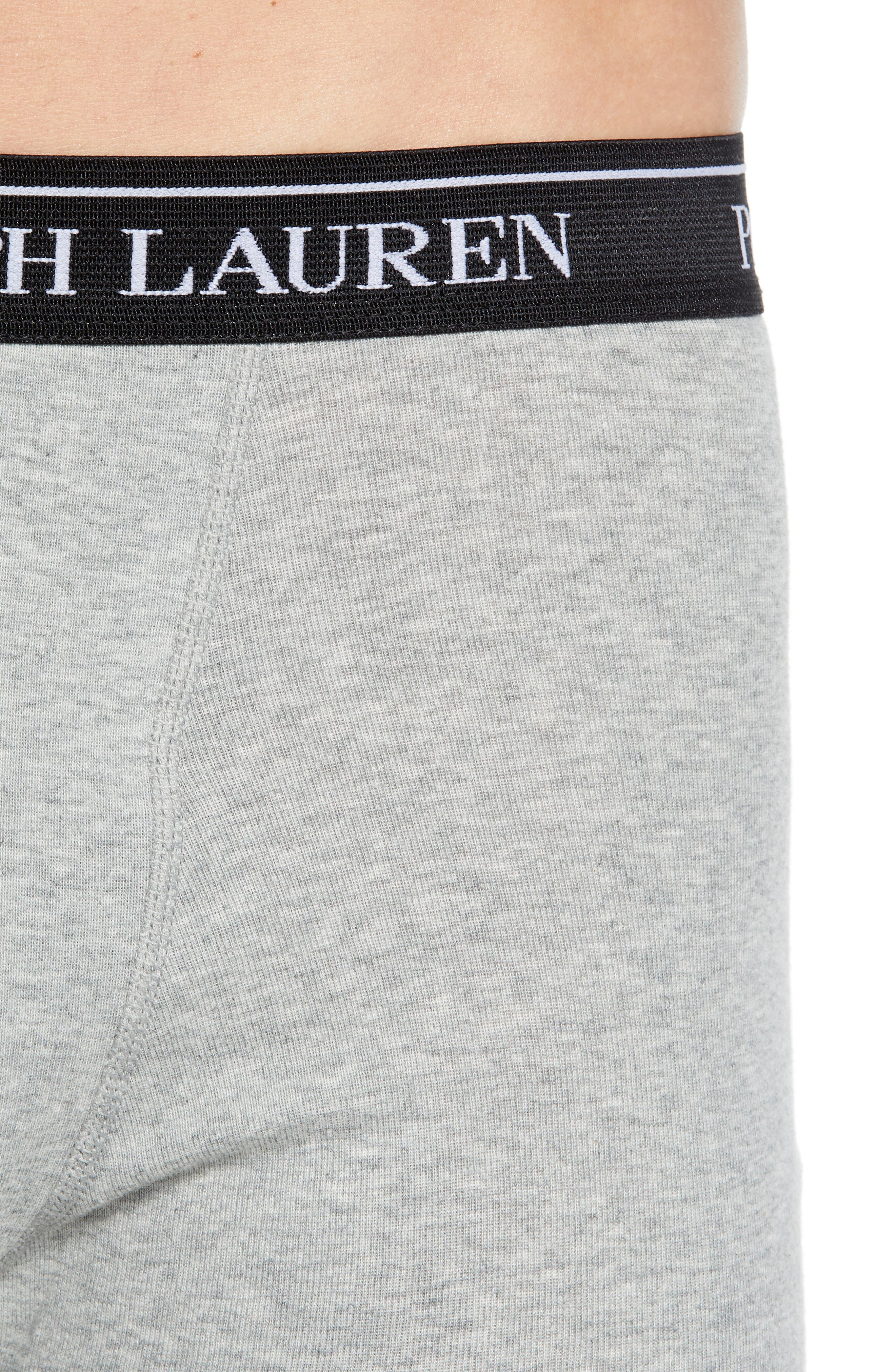 Polo Ralph Lauren 5-Pack Cotton Boxer Briefs,                             Alternate thumbnail 5, color,                             2ANDHTH/MA