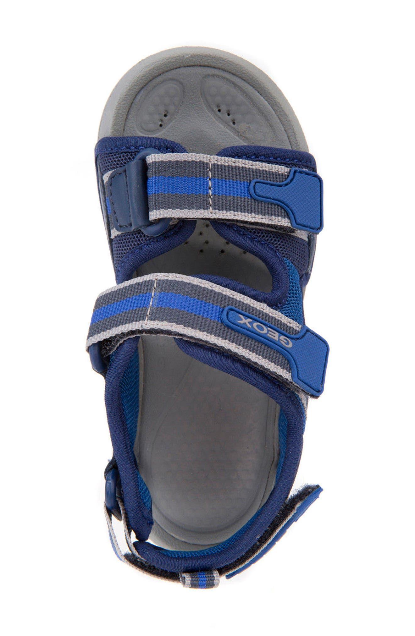 Ultrak Sandal,                             Alternate thumbnail 4, color,                             NAVY/ ROYAL