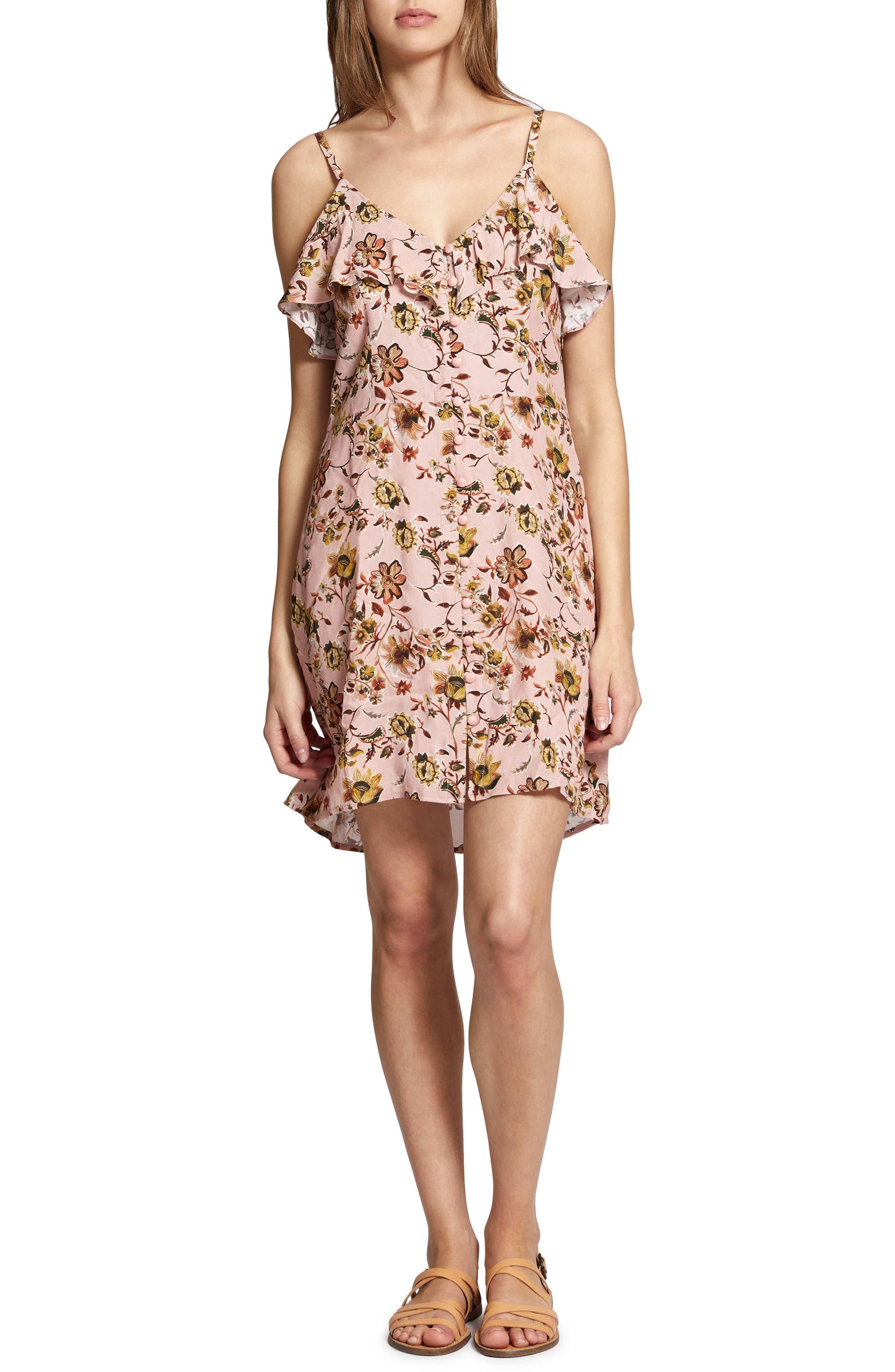 Rafaella Floral Print Dress,                             Main thumbnail 2, color,