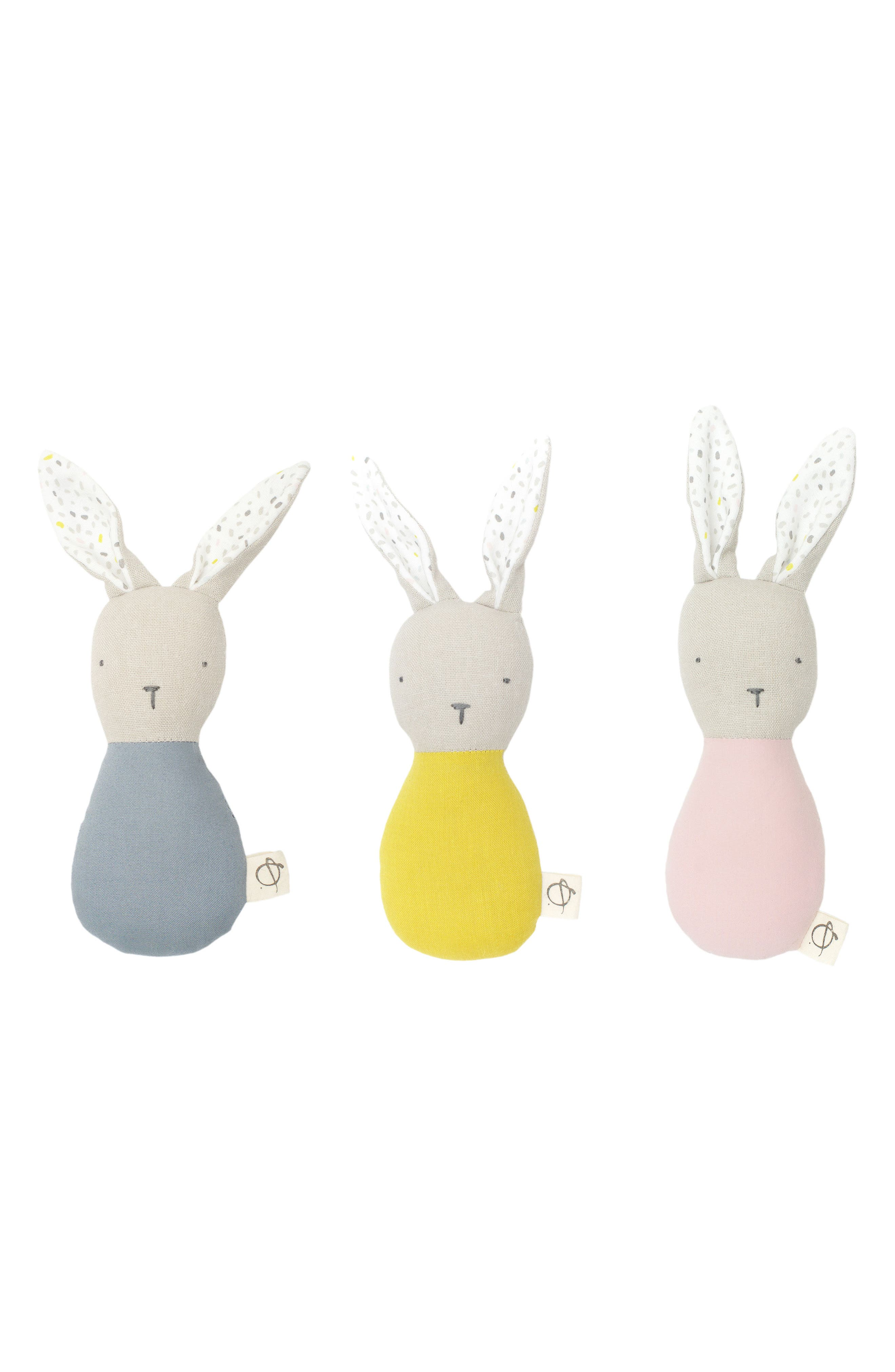 ouistitine x Pehr Magic Forest Bunny Rattle,                             Alternate thumbnail 2, color,                             450