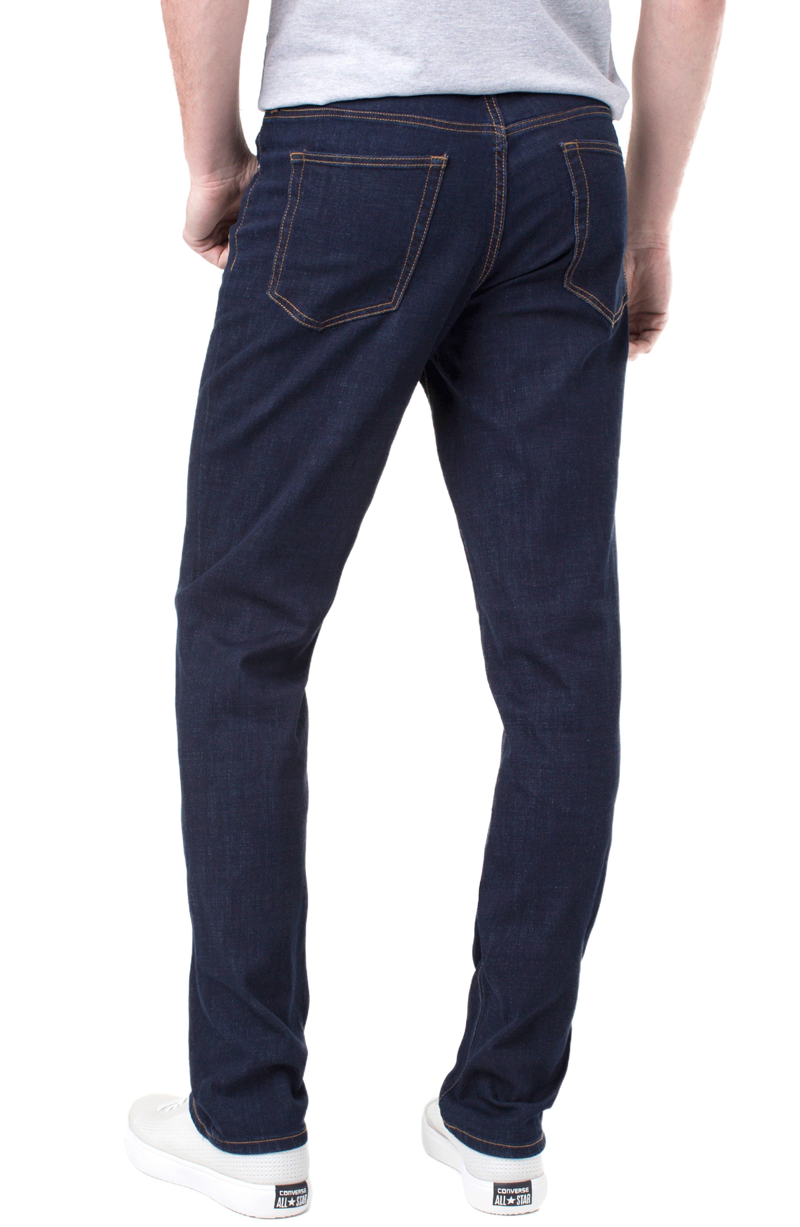 Kingston Slim Straight Leg Jeans,                             Alternate thumbnail 2, color,                             MODERN RINSE