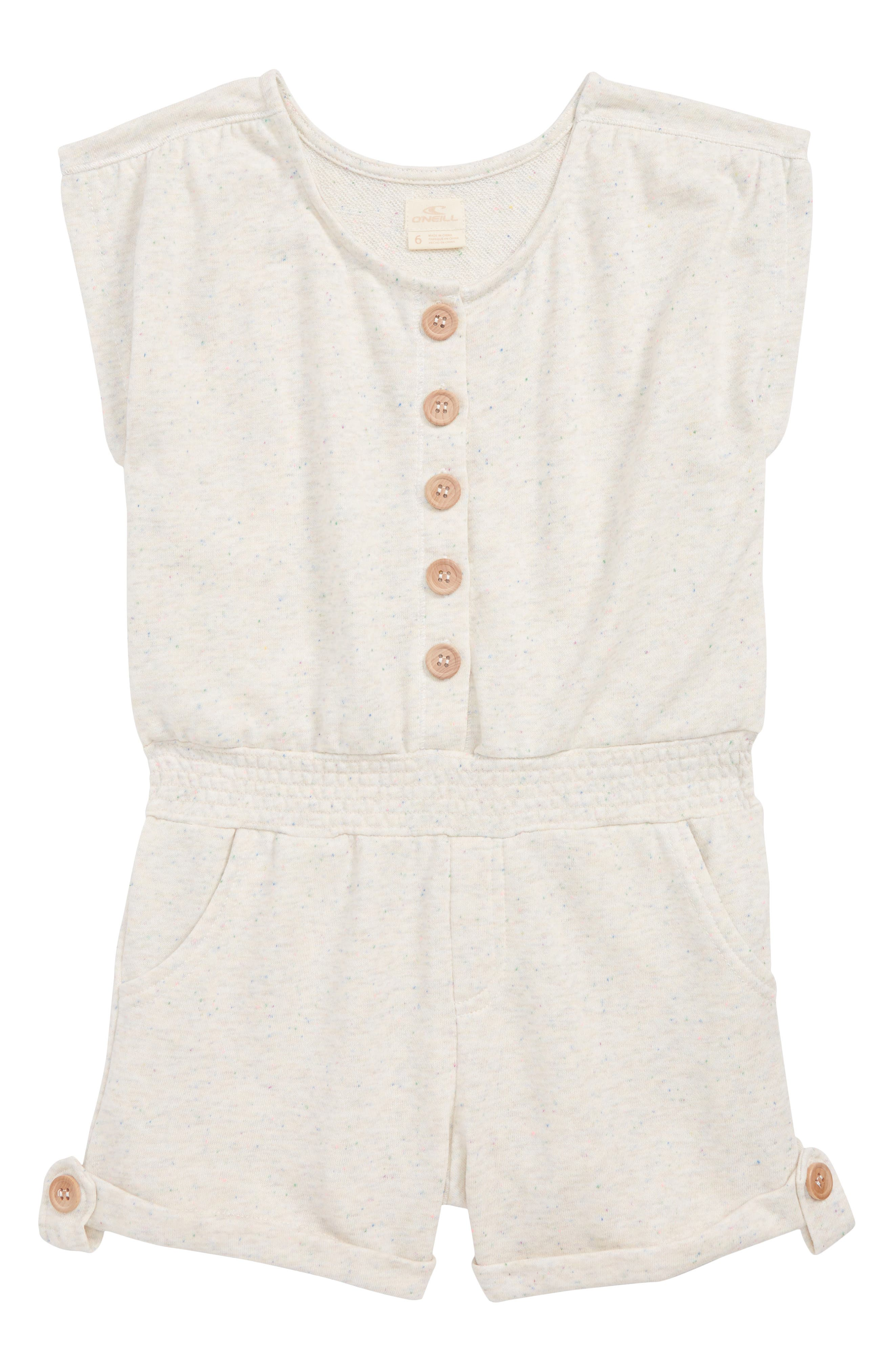 Cassie Knit Romper,                             Main thumbnail 1, color,                             NAKED