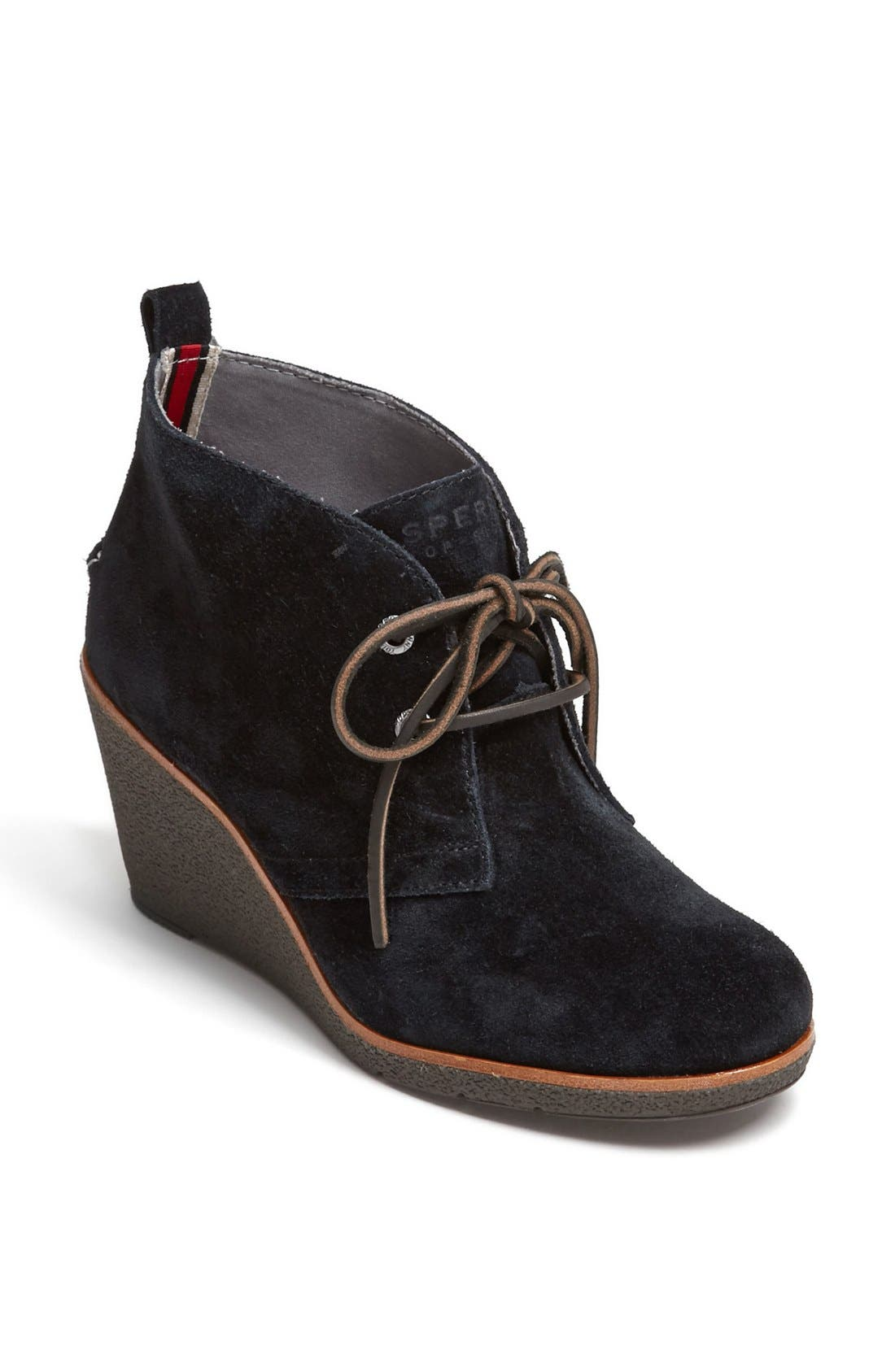 Top Sider<sup>®</sup> 'Harlow' Bootie,                             Main thumbnail 1, color,                             001
