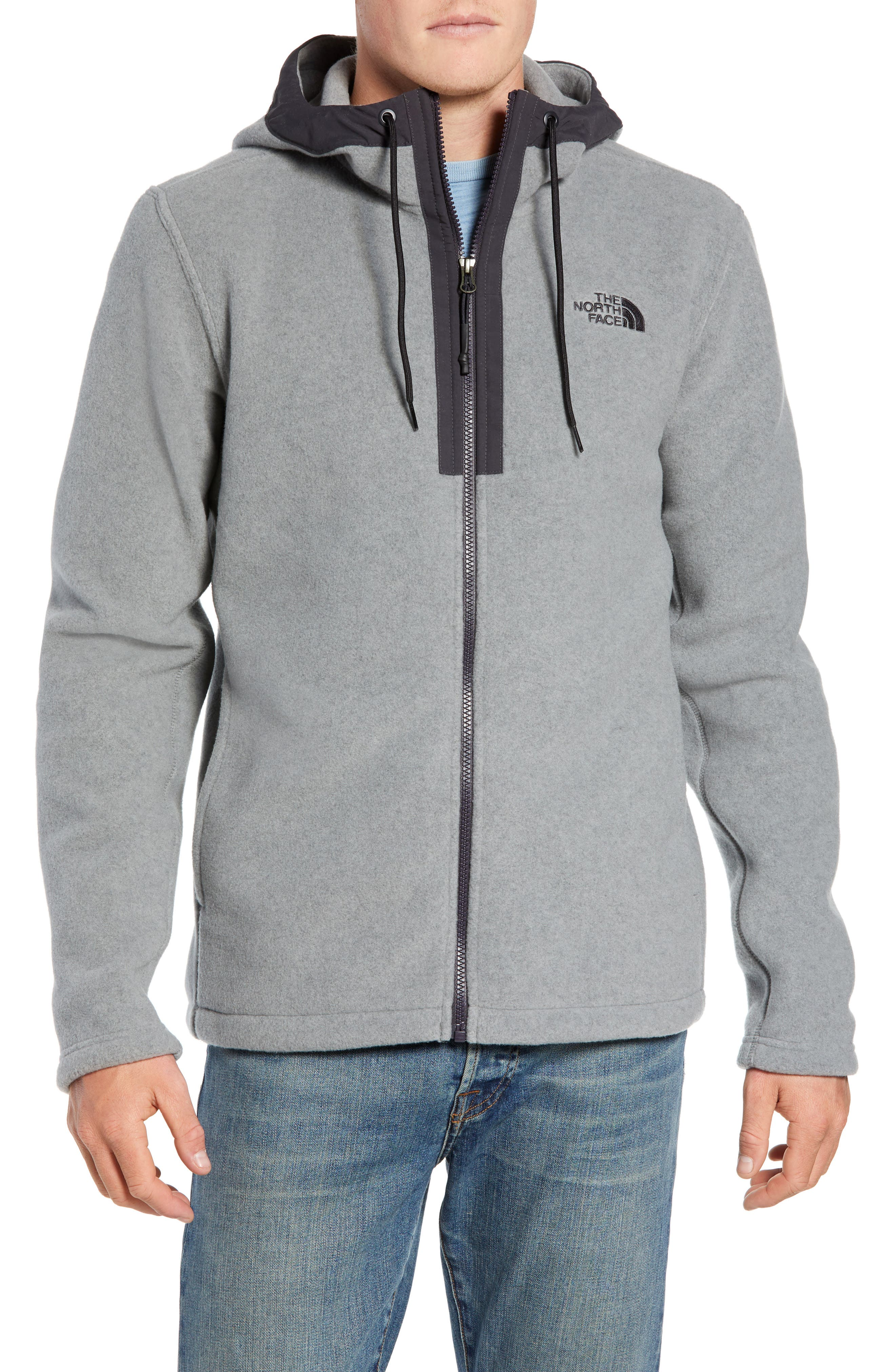 The North Face Pyrite Sweater Knit Fleece Hoodie