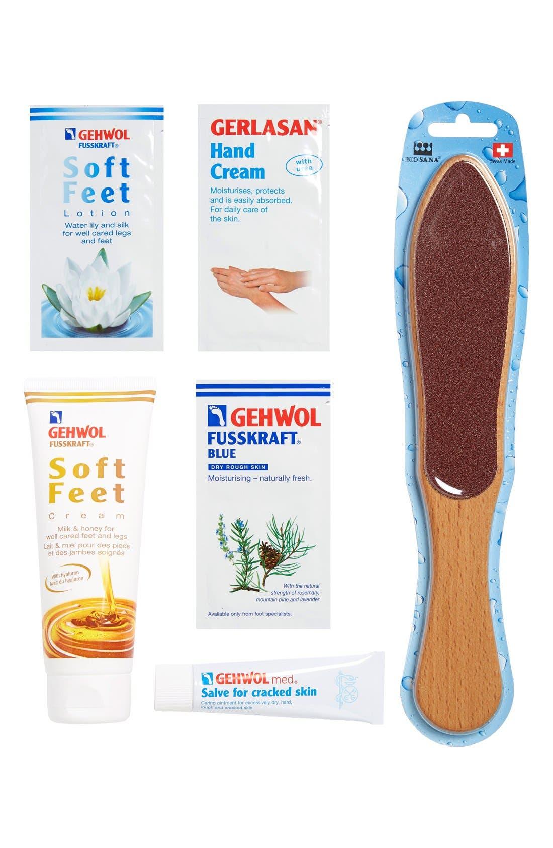 Soft Feet Treatment Kit,                             Main thumbnail 1, color,                             NO COLOR